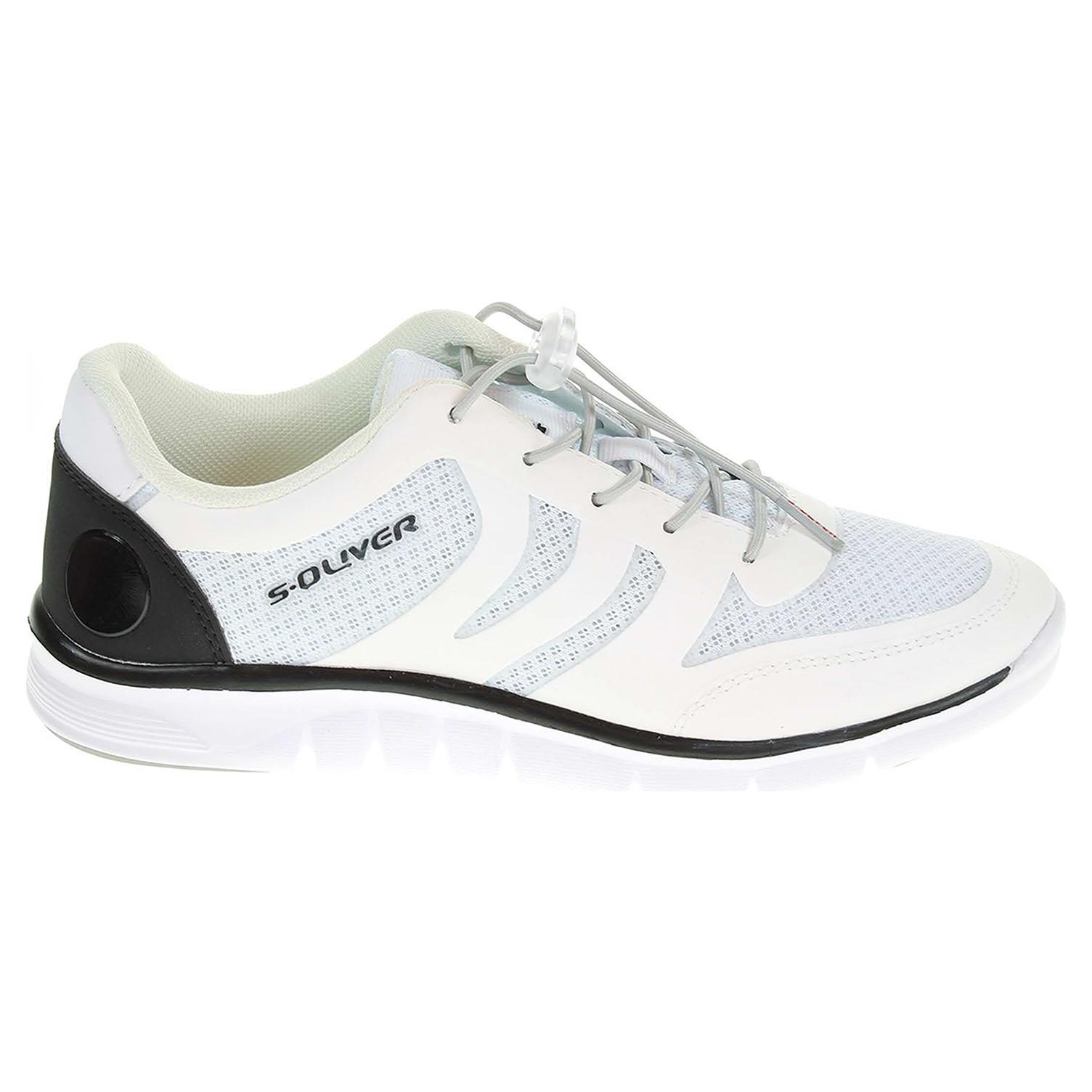 s.Oliver dámská vycházková obuv 5-23606-24 bílá 38