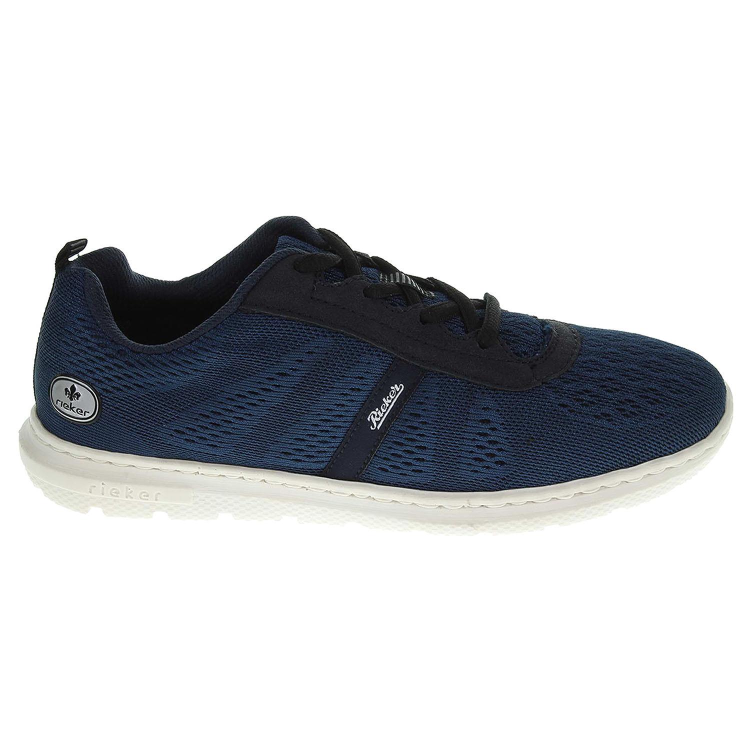Ecco Rieker dámské vycházkové 55104-14 modré 23200452
