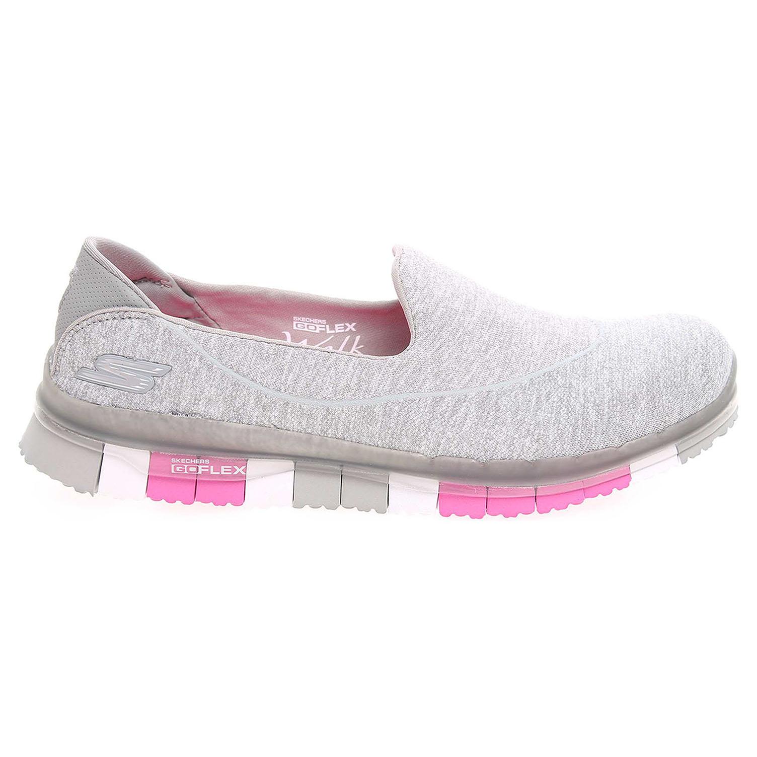 Skechers Go Flex gray-pink 37,5