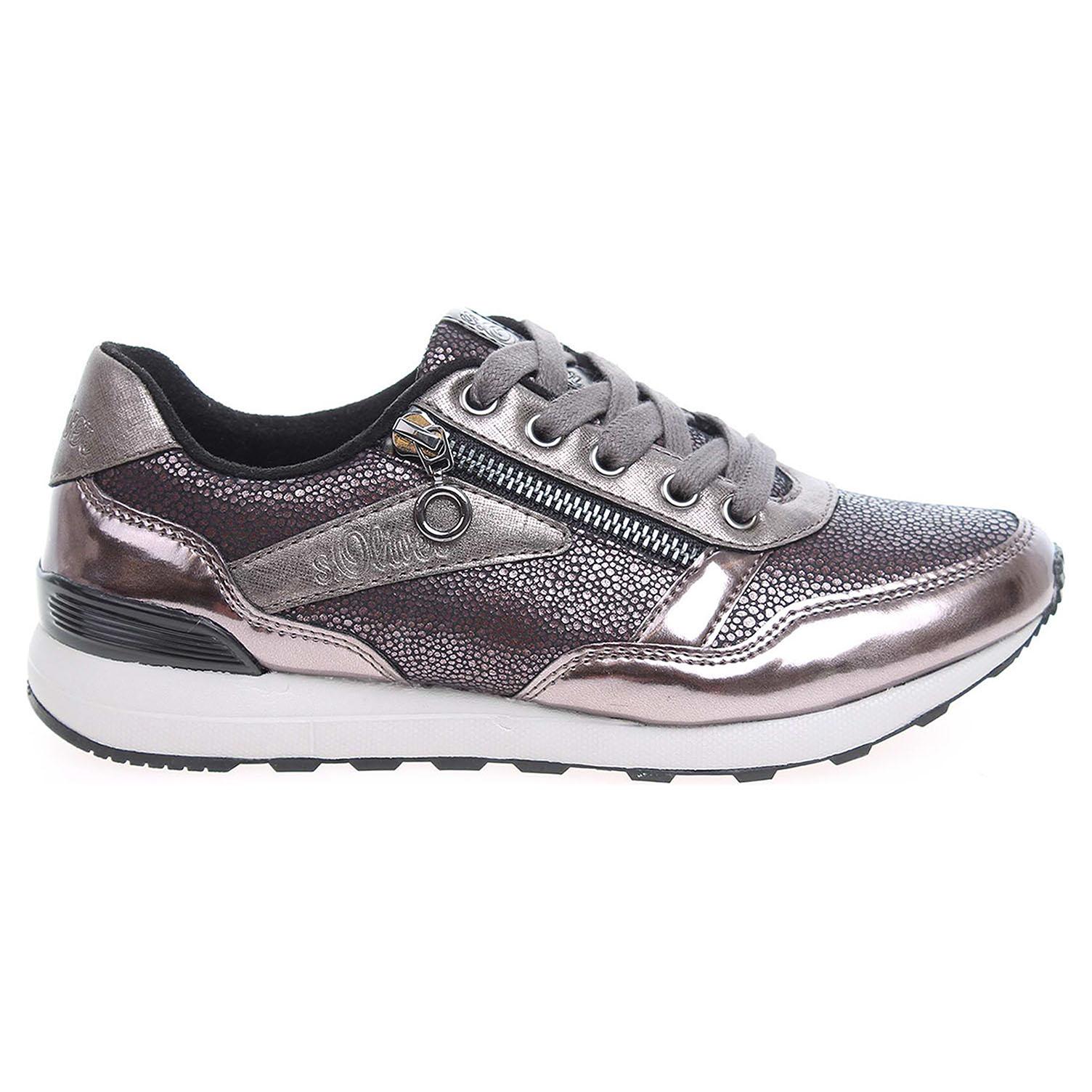 s.Oliver dámská obuv 5-23635-37 hnědá-šedá 40 hnědá hnědá