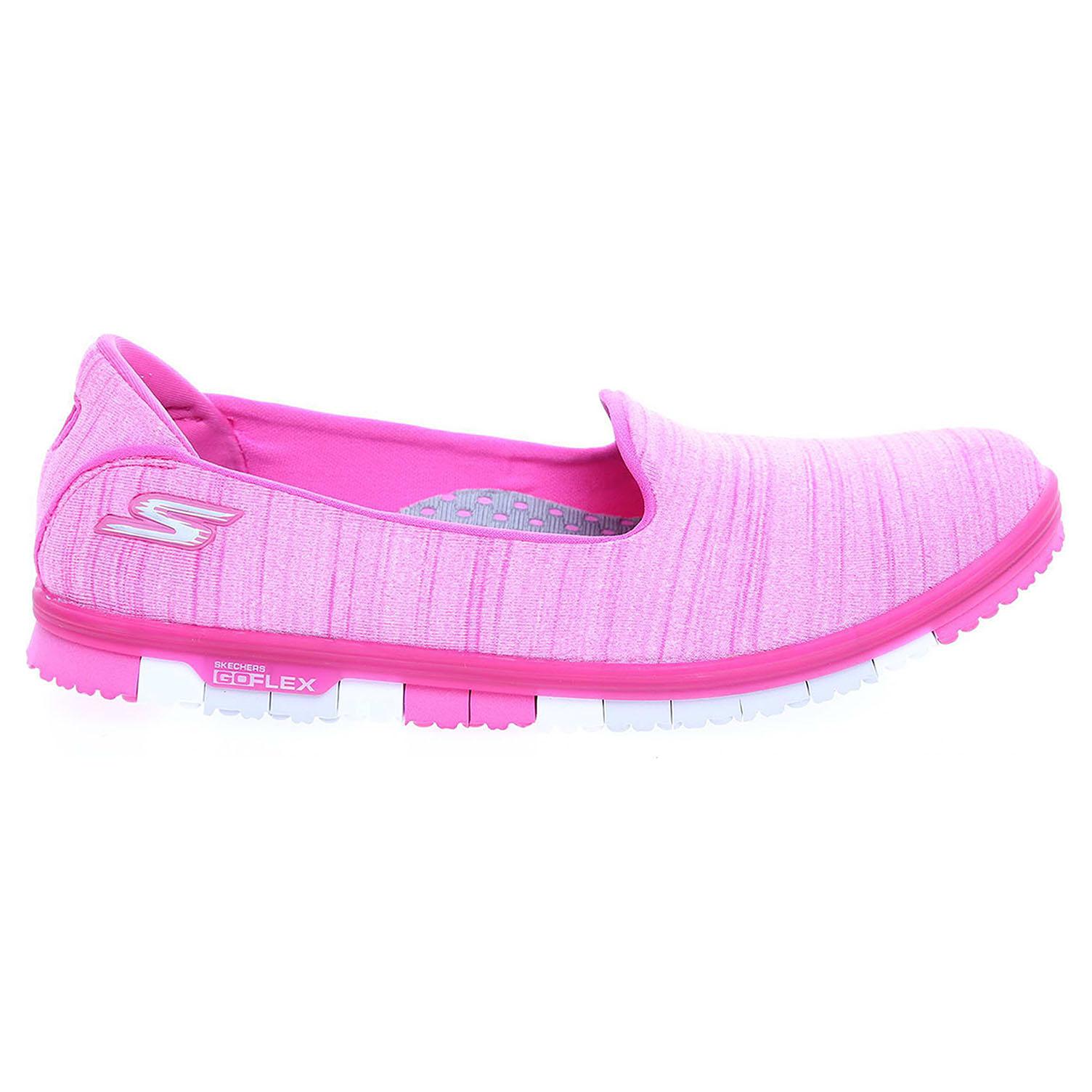 Skechers Go Mini Flex hot pink 36