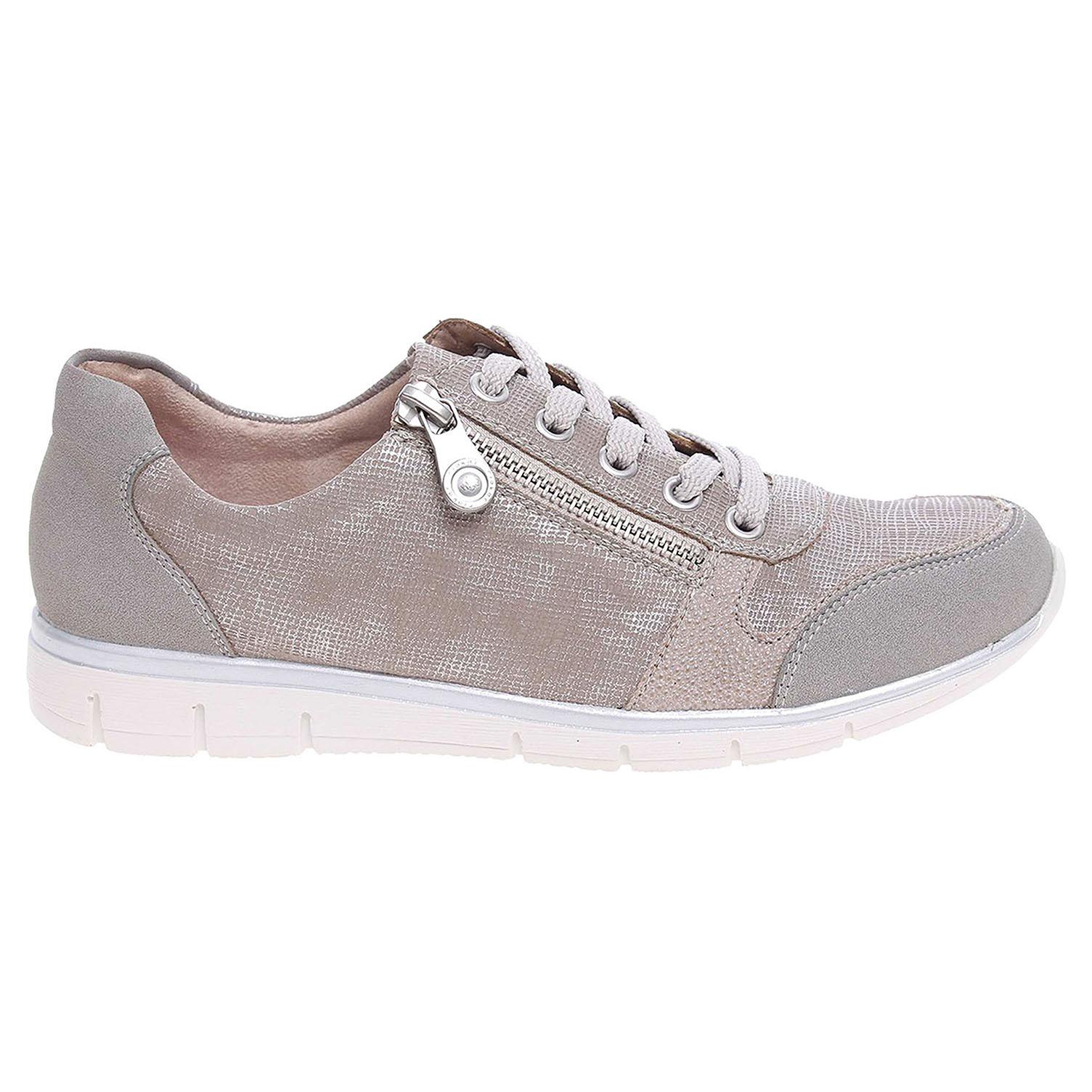Ecco Rieker dámská obuv N4020-40 béžová-šedá 23200580