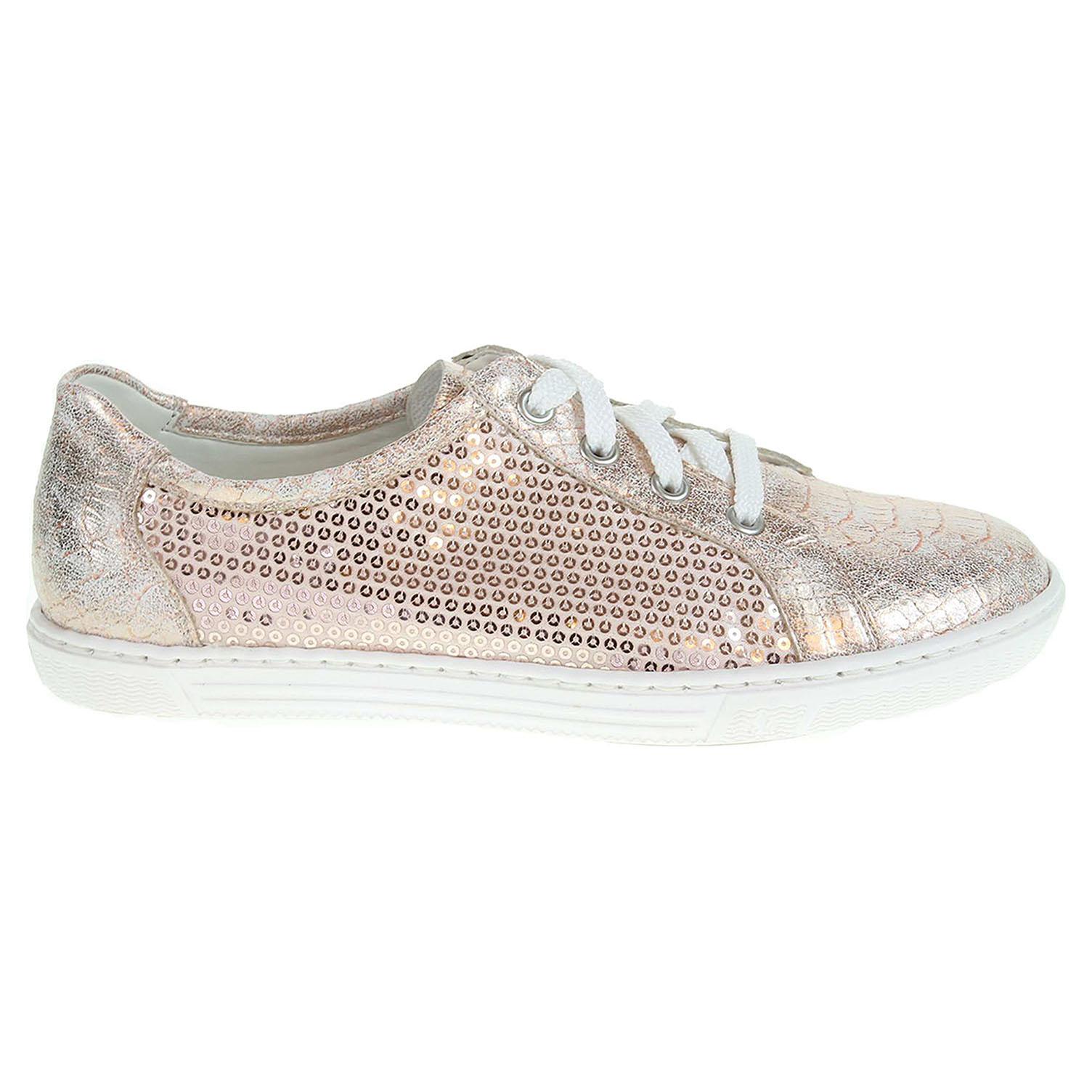Rieker dámská obuv L0900-31 růžová 42