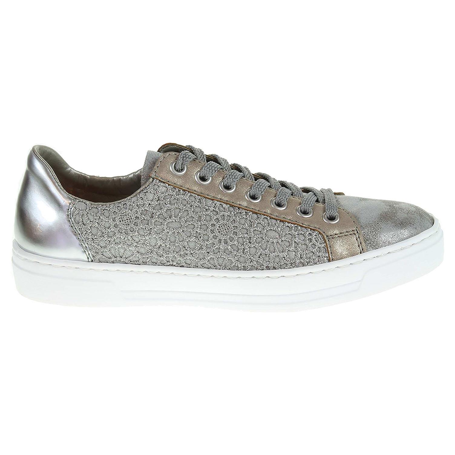 Ecco Rieker dámská obuv L8514-41 šedá 23200594