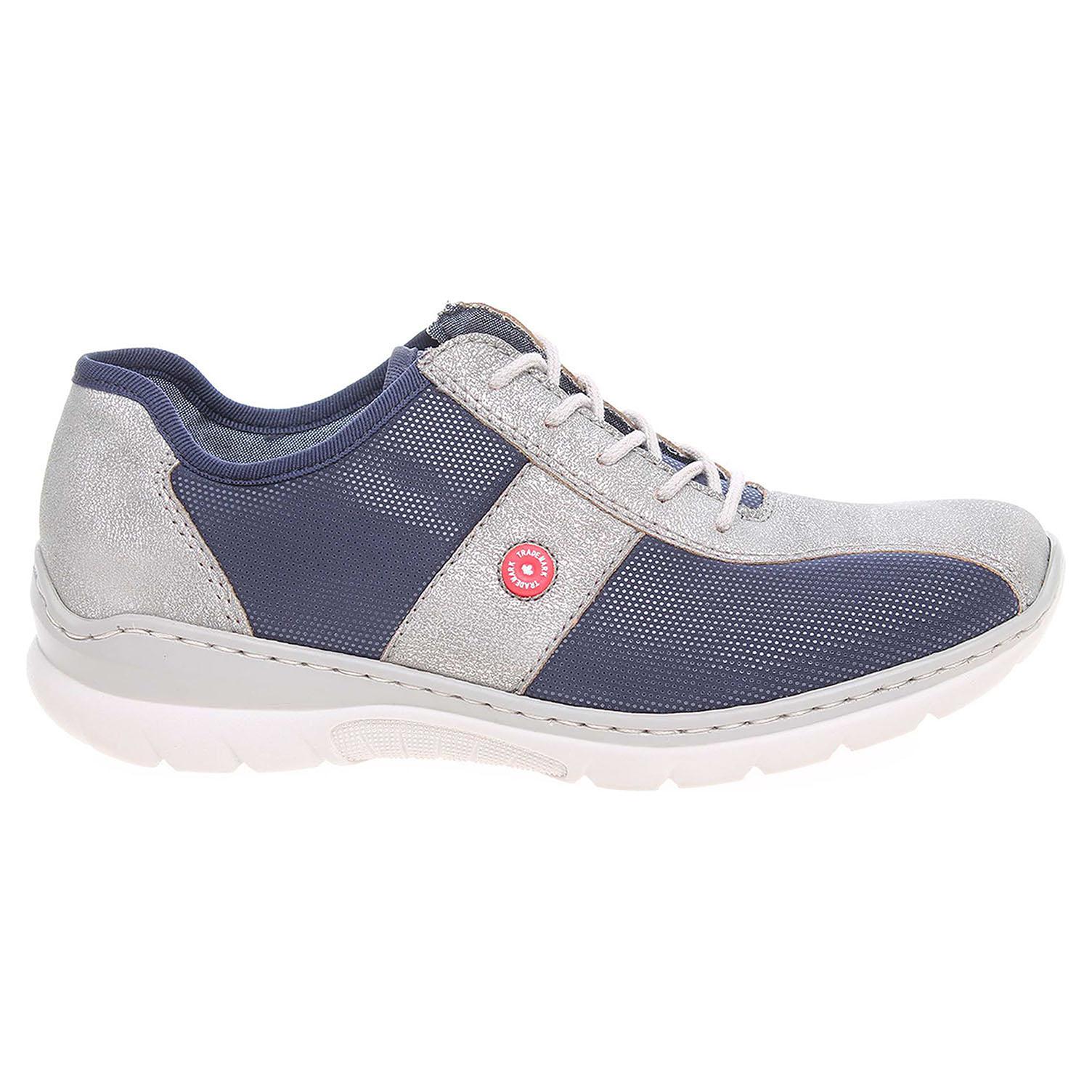 Ecco Rieker dámská obuv L3218-40 modrá-šedá 23200607