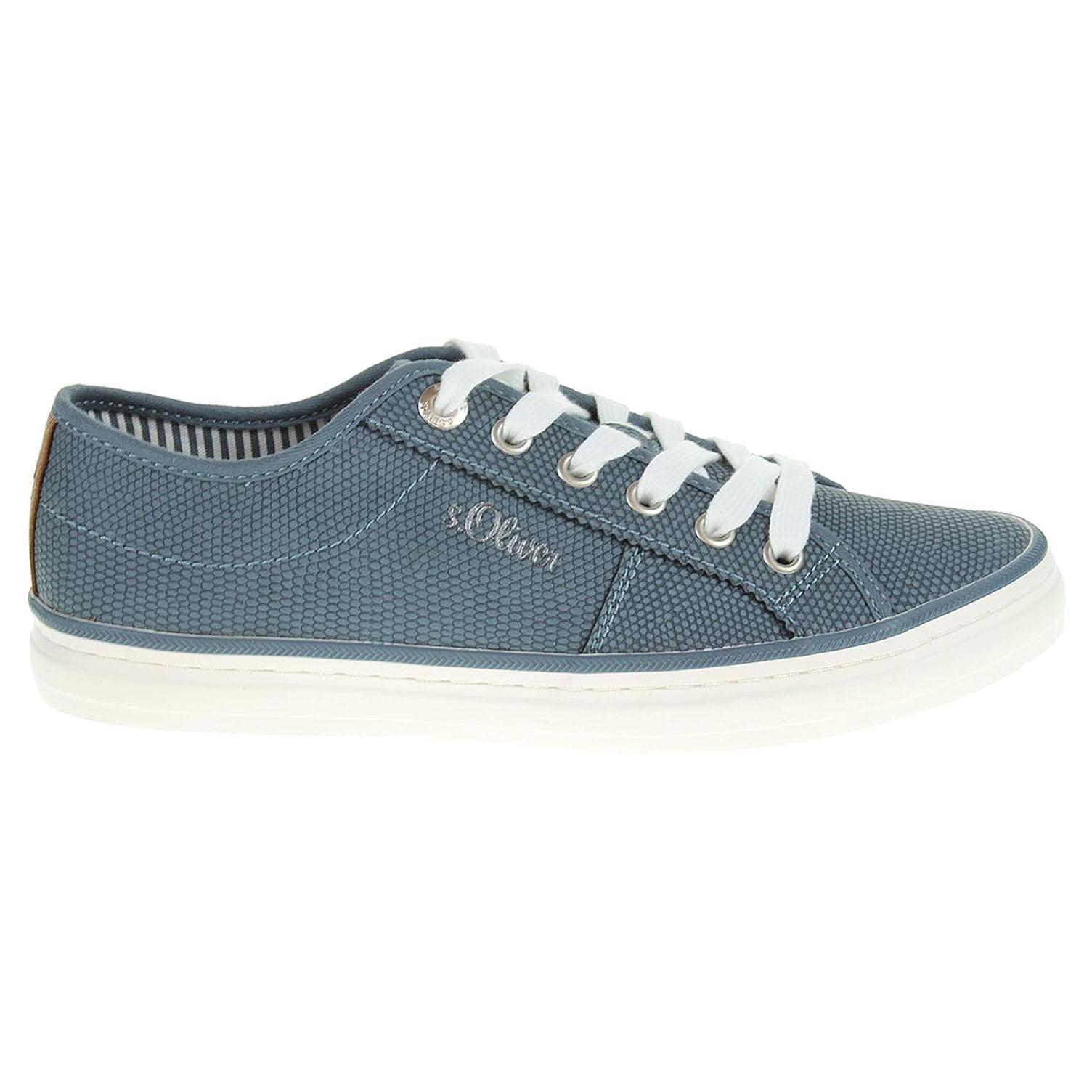 s.Oliver dámská obuv 5-23640-28 modrá 37