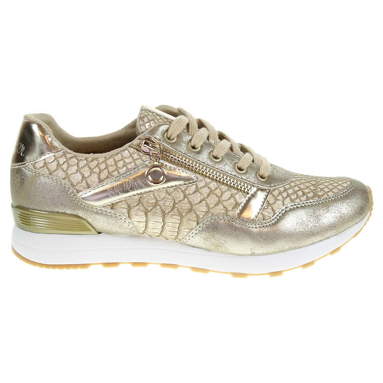 s.Oliver dámská obuv 5-23655-38 zlatá 37 zlatá zlatá