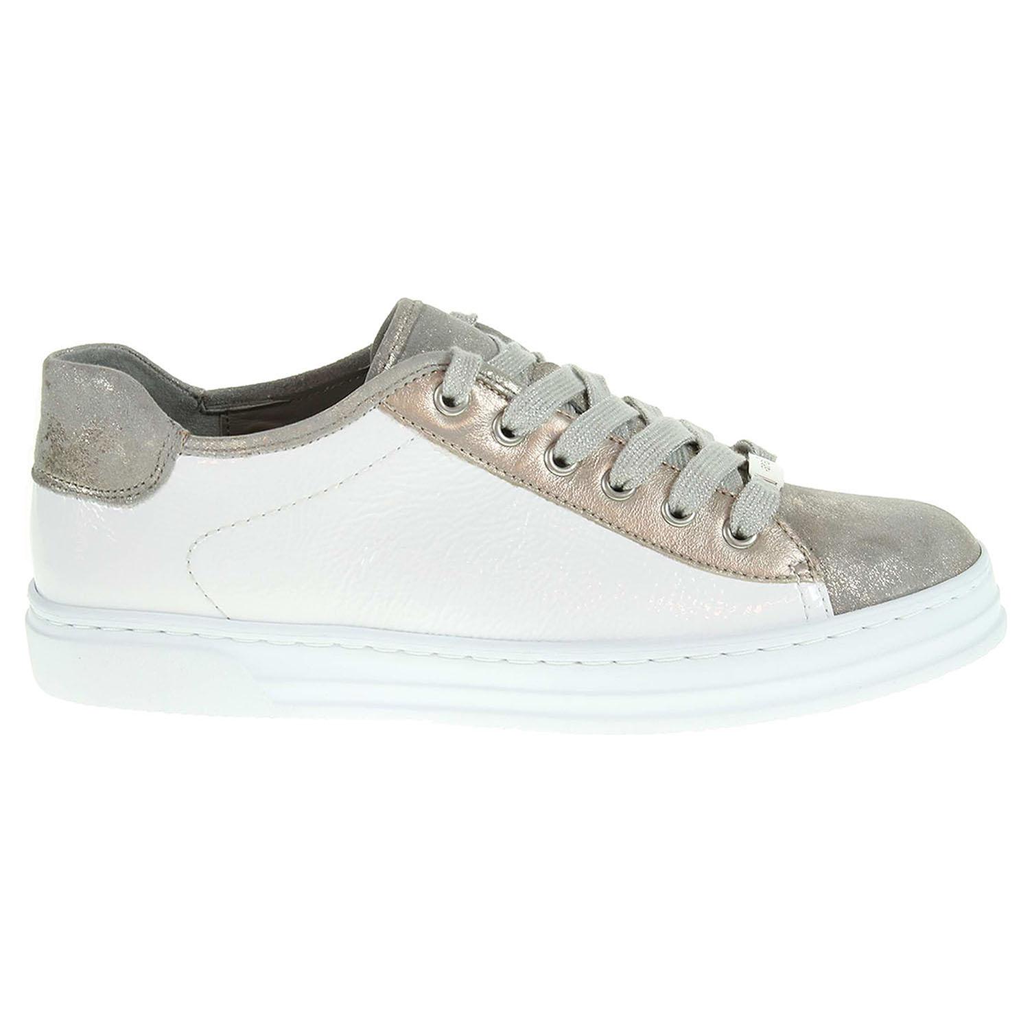 Ecco Ara dámská obuv 37455-12 bílá-platina 23200618