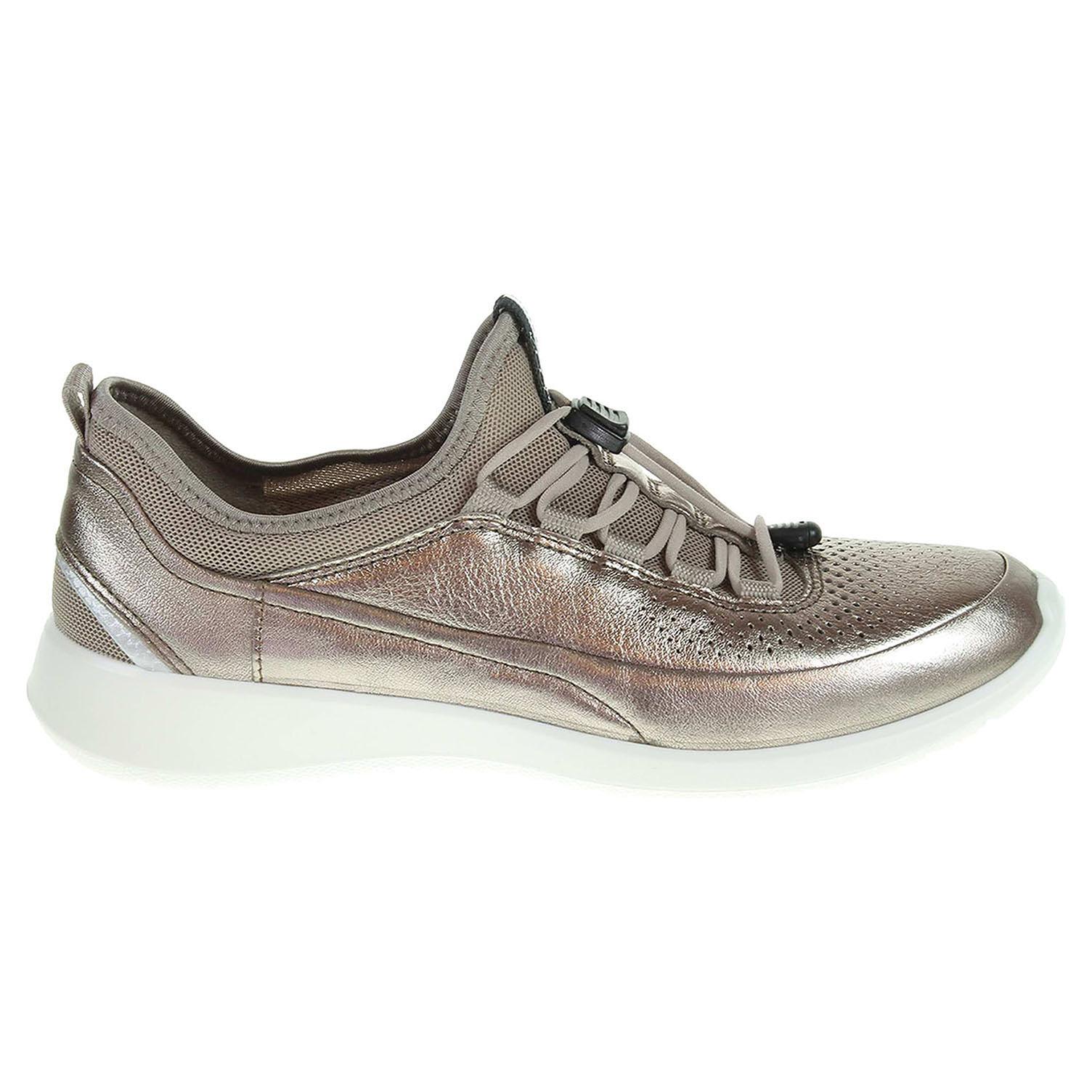Ecco Soft 5 dámská obuv 28301357462 zlatá 41