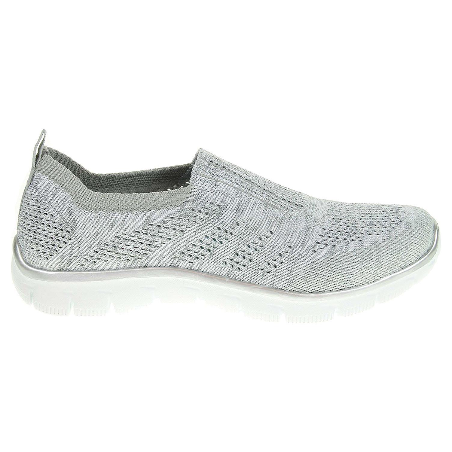 Ecco Skechers Empire Round Up gray-silver 23200633