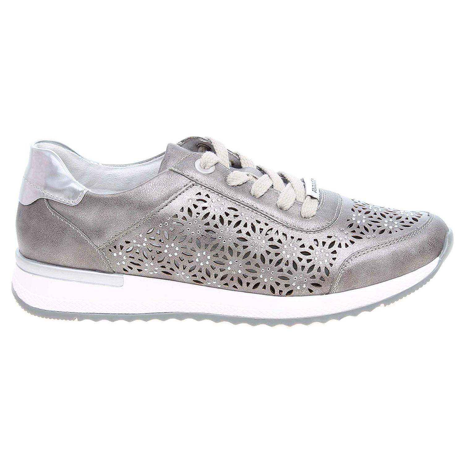 Remonte dámská obuv R7004-90 stříbrná 42