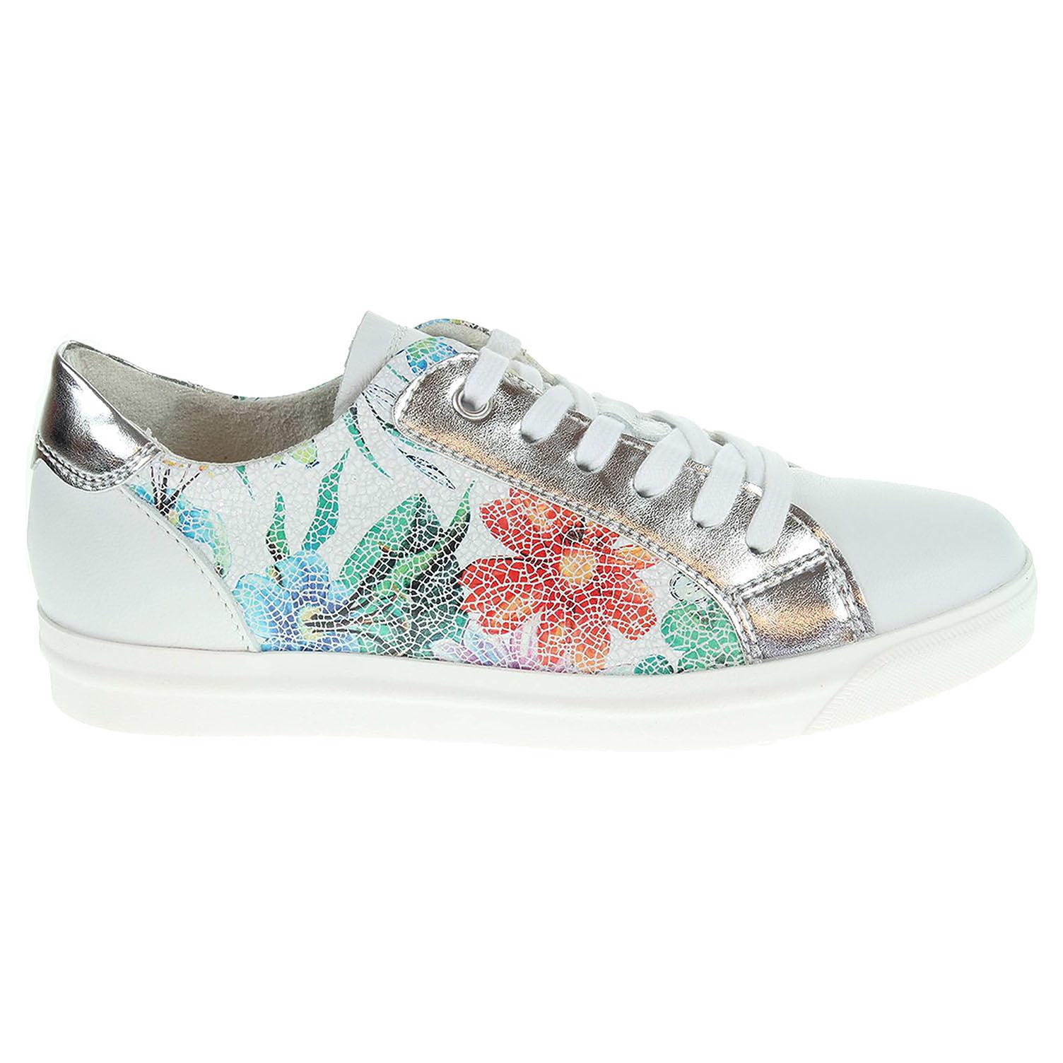 Ecco MArco Tozzi dámská obuv 2-23613-38 bílá-multi 23200675