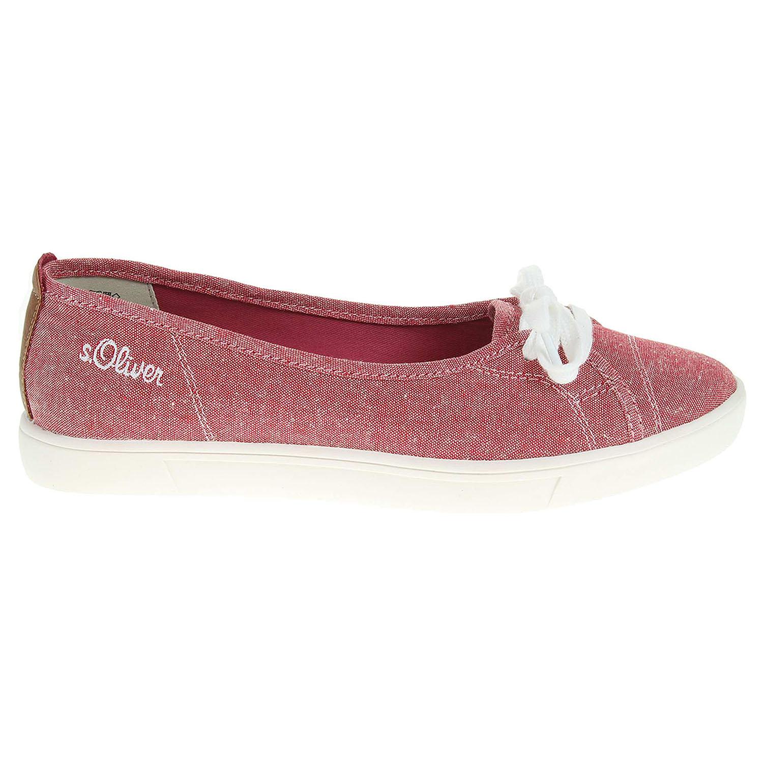 s.Oliver dámská obuv 5-22131-38 červená 37
