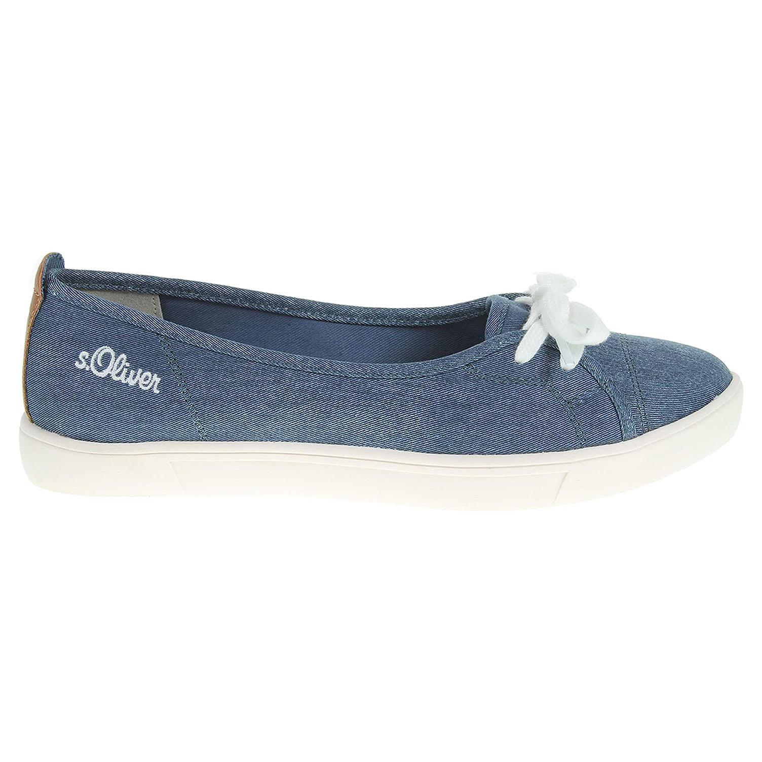 s.Oliver dámská obuv 5-22131-38 modrá 39