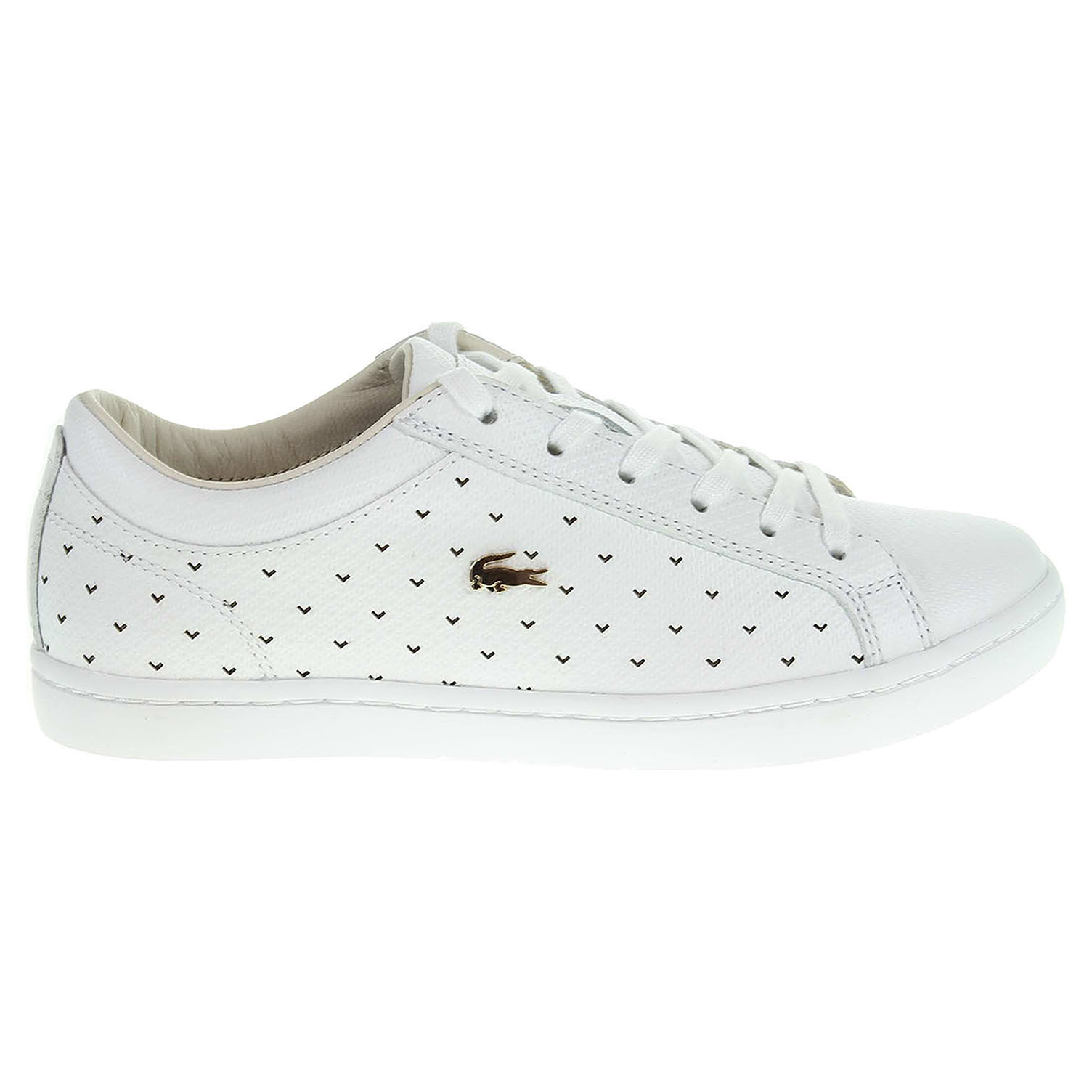 Ecco Lacoste Straightset dámská obuv bílá 23200698