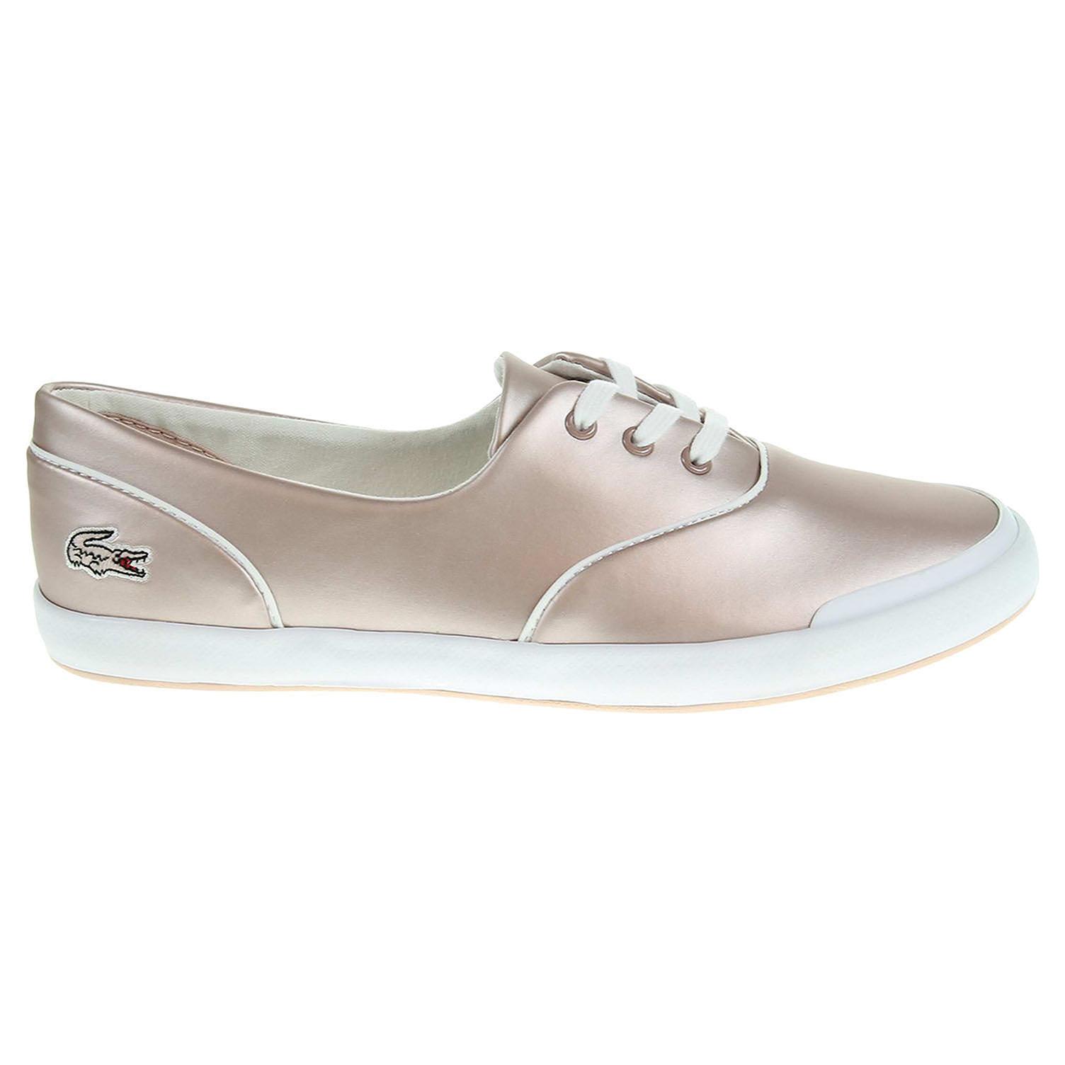 Lacoste Lancelle 3 Eye dámská obuv růžová 37