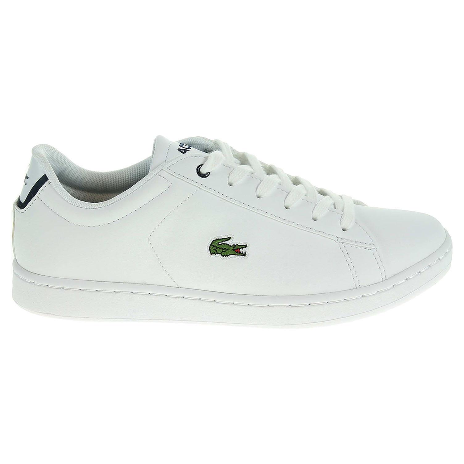 Ecco Lacoste Carnaby dámská obuv bílá 23200701