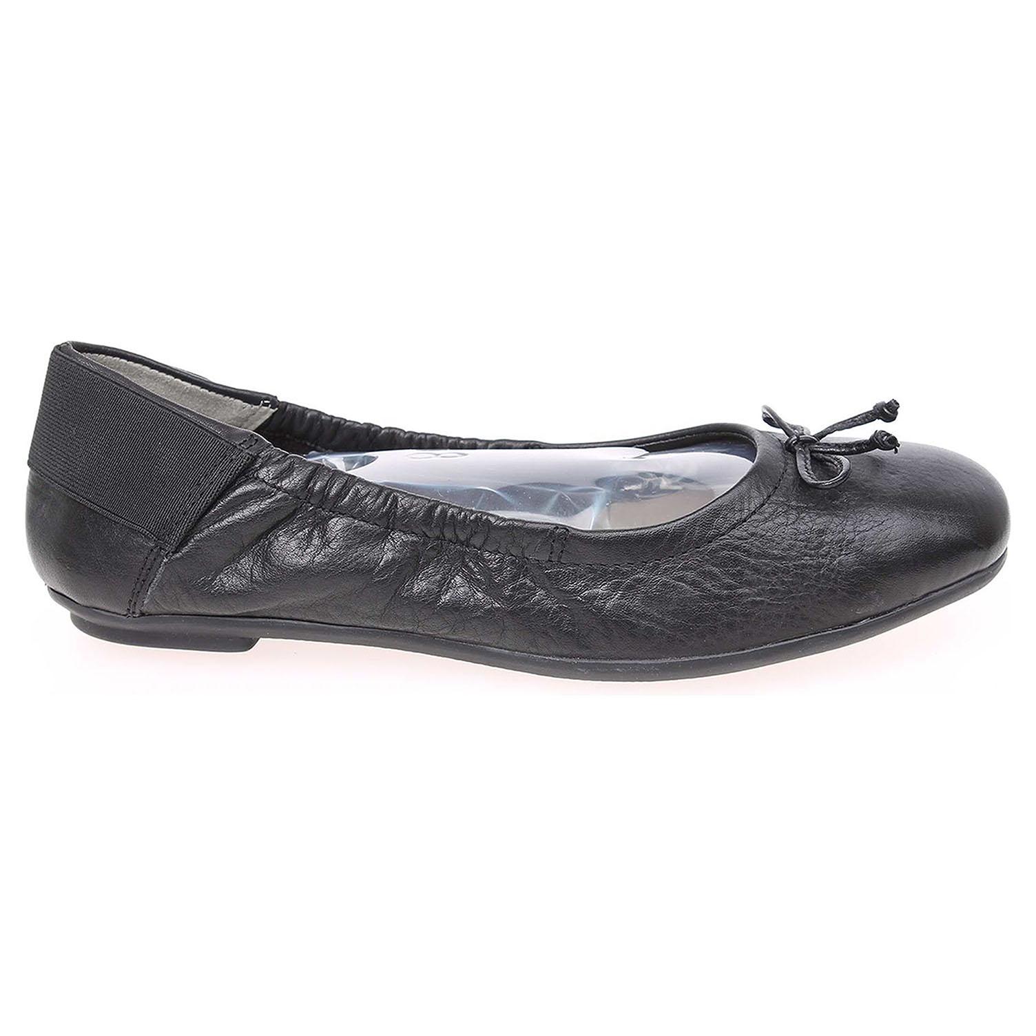 Caprice dámské baleriny 9-22163-24 černé 39