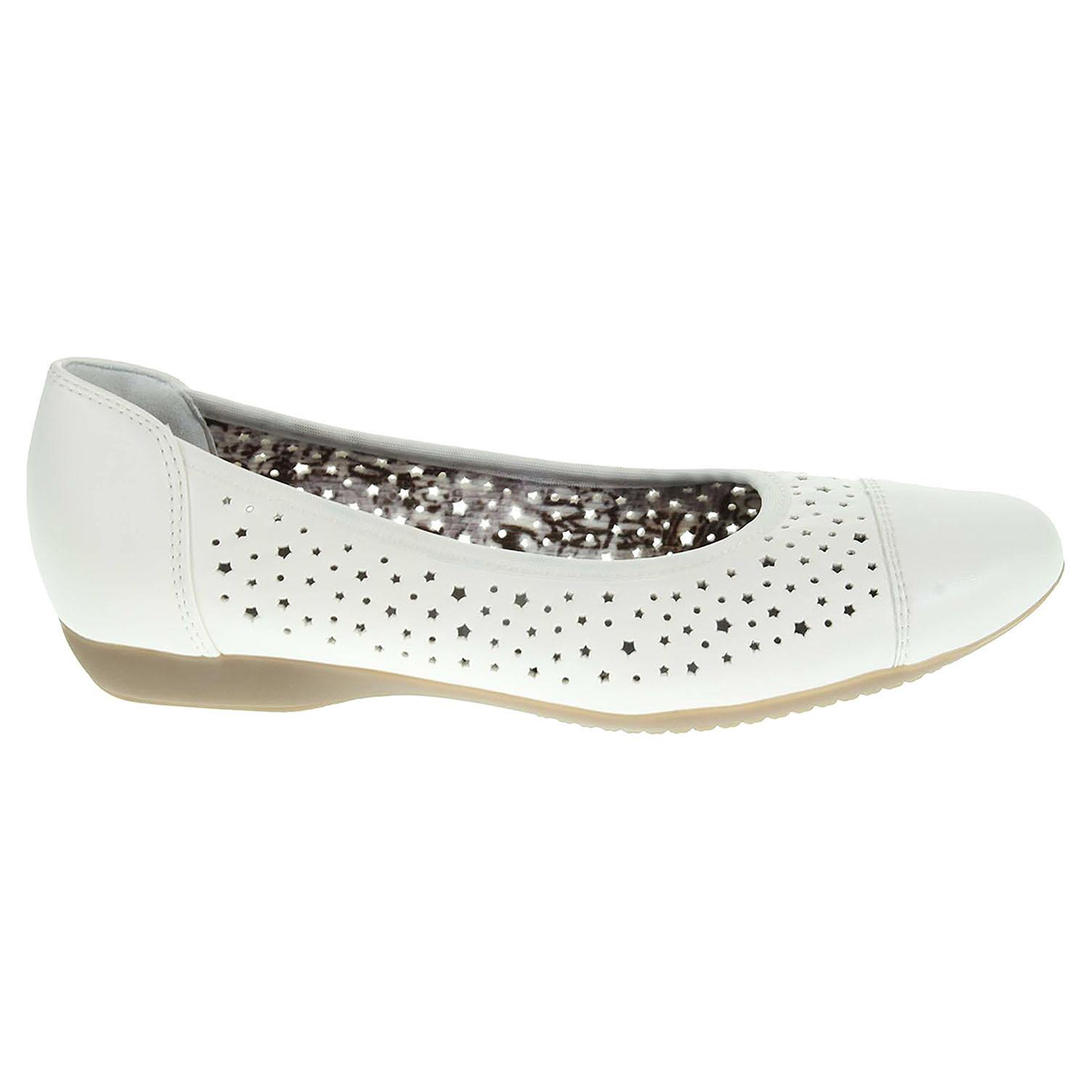 Ara dámské baleriny 53383-05 bílé 36