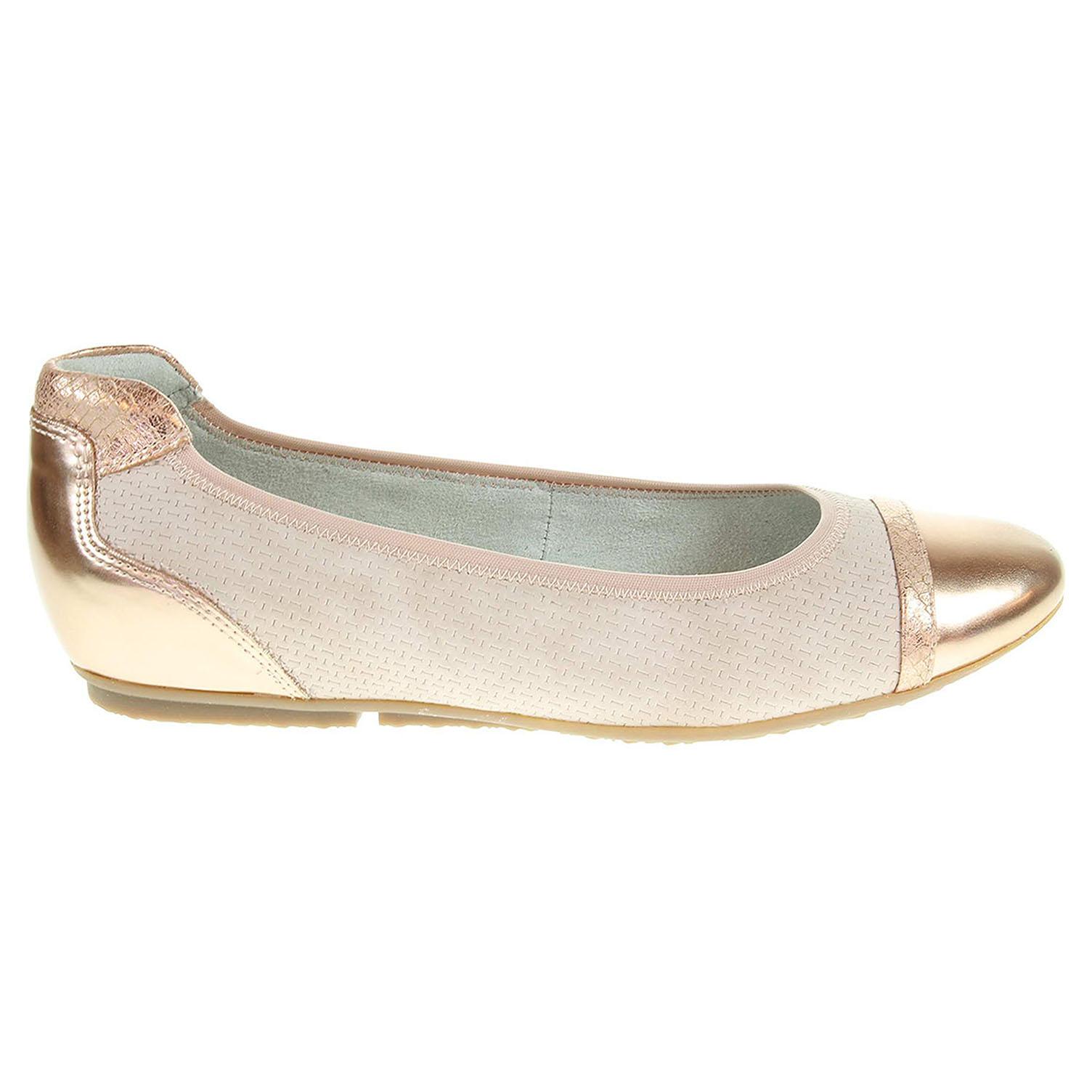Ecco Tamaris dámské baleriny 1-22119-28 růžové 23300872