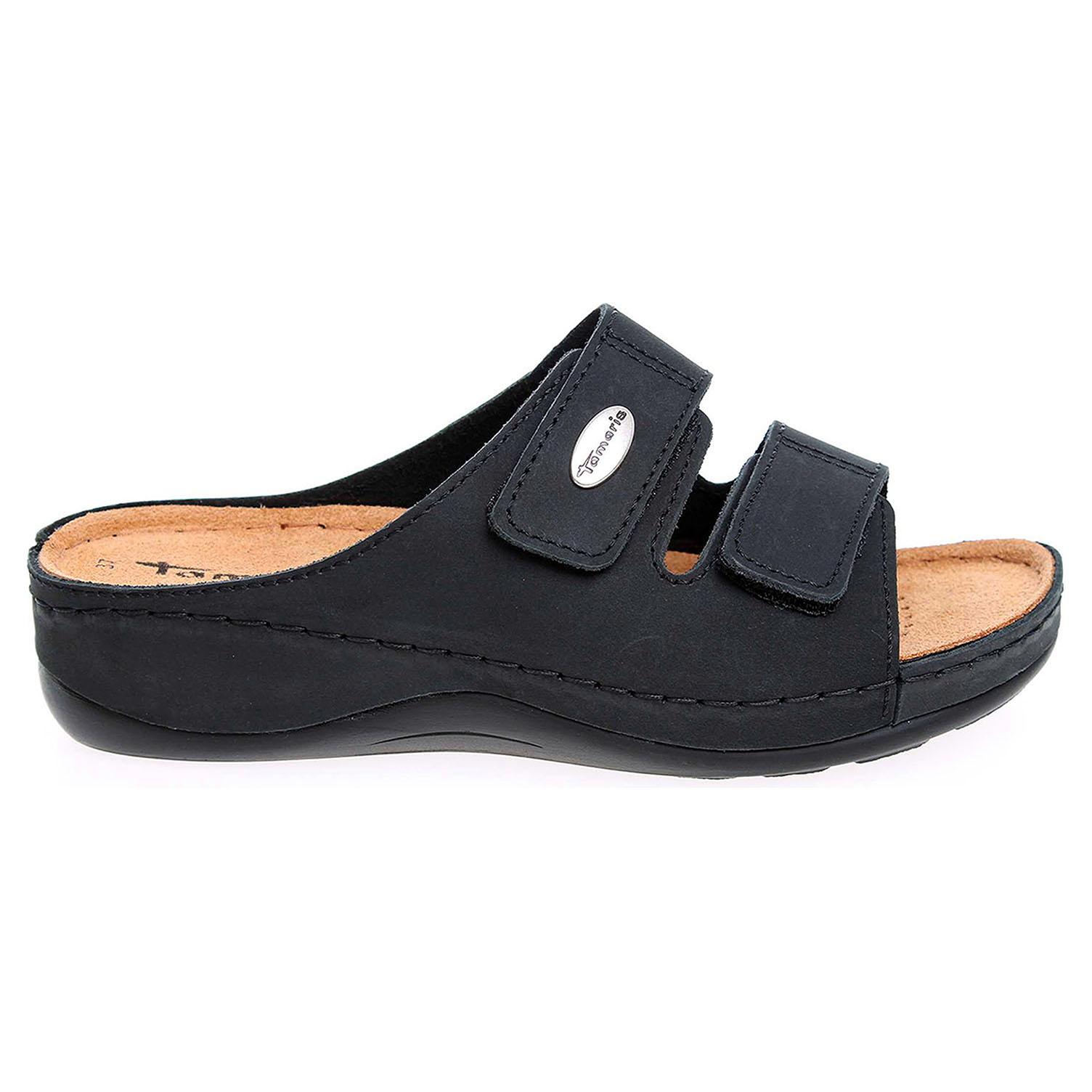 Ecco Tamaris dámské pantofle 1-27510-28 černé 23400180