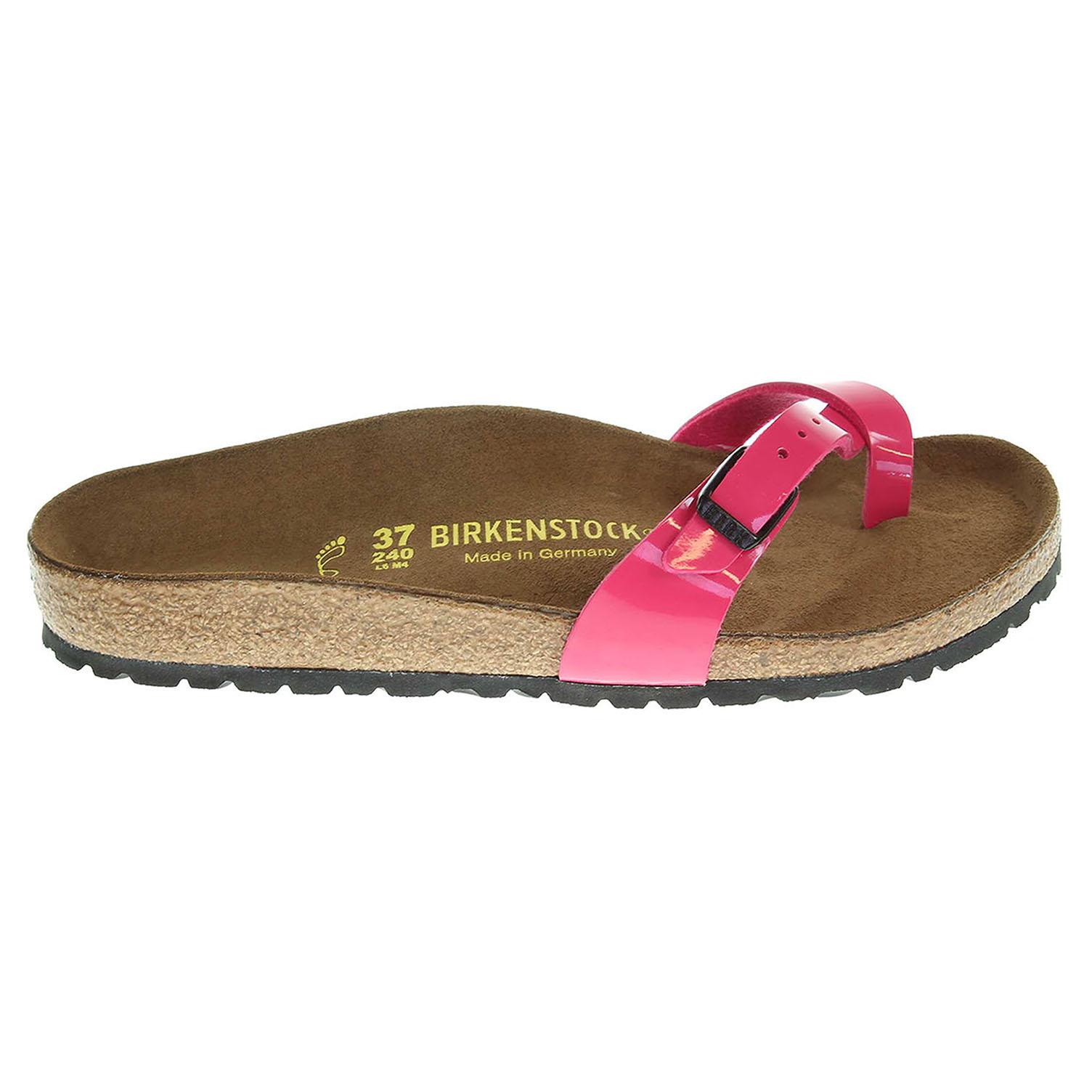 Birkenstock Piazza dámské pantofle 417221 růžové 41