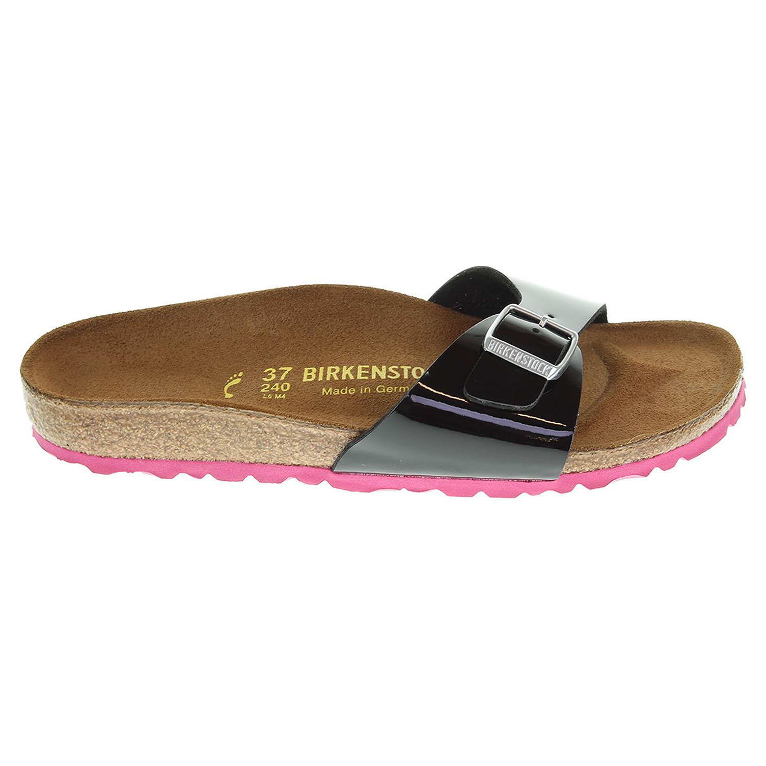 Birkenstock Madrid dámské pantofle 339243 černé 41