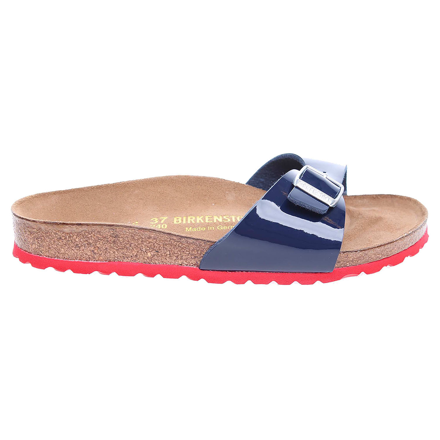 Birkenstock Madrid dámské pantofle 339263 modrá 41