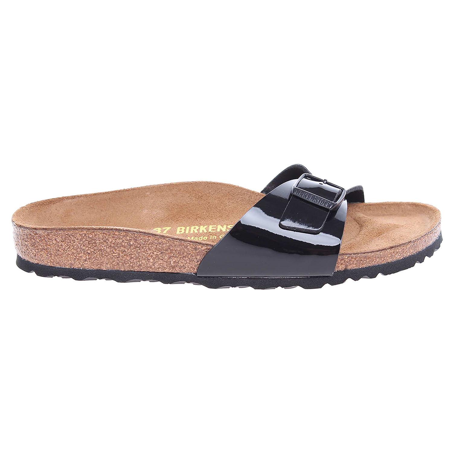 Birkenstock Madrid dámské pantofle 040303 černé 41