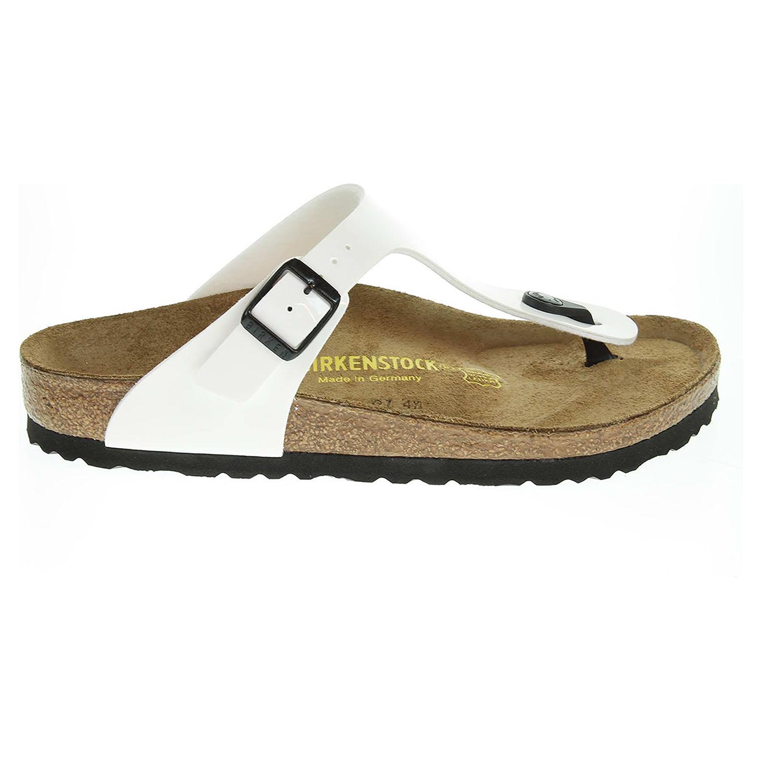 Birkenstock Gizeh dámské pantofle 543761 bílé 41