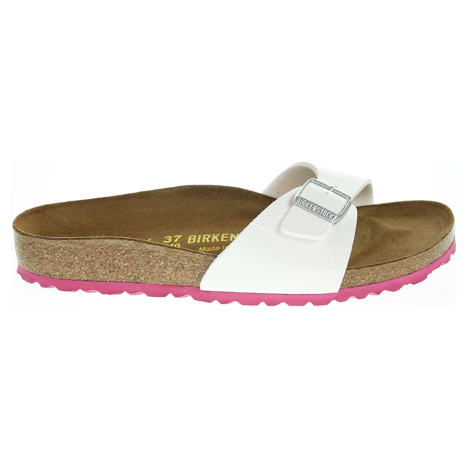Birkenstock Madrid dámské pantofle 339413 bílé 41