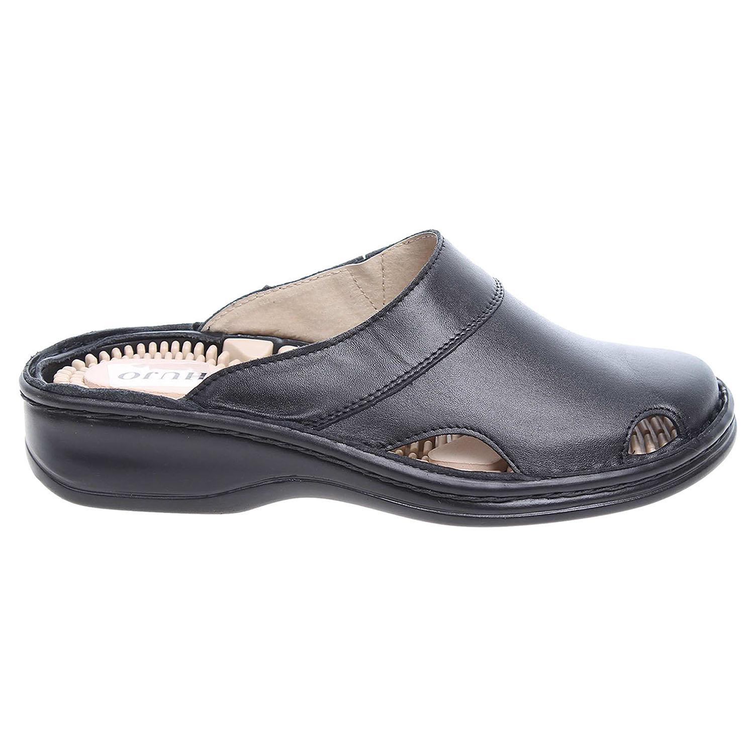Dámské pantofle masážní F 01 černé 41