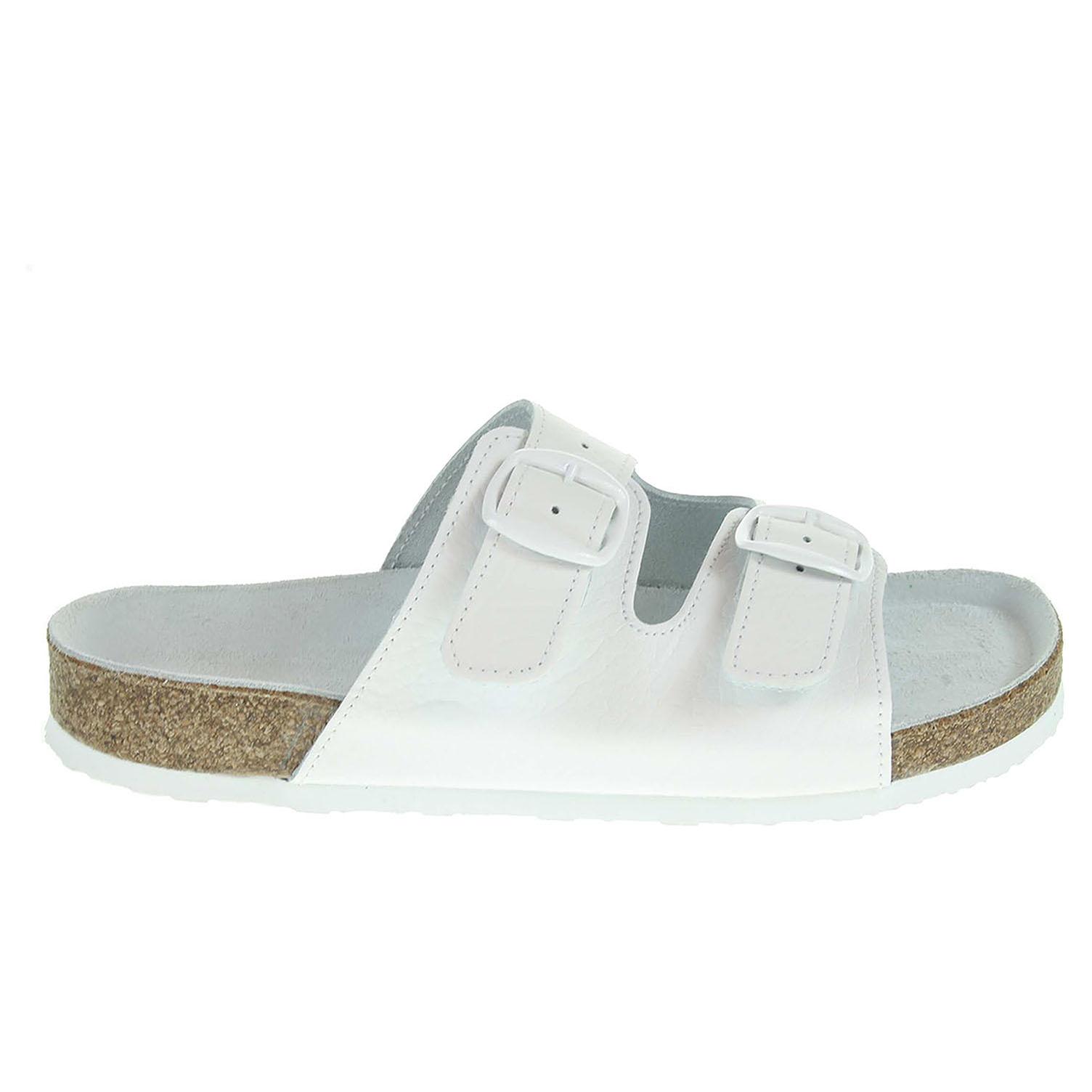 Ecco Pegres dámské pantofle 2100.00 bílé 23400284