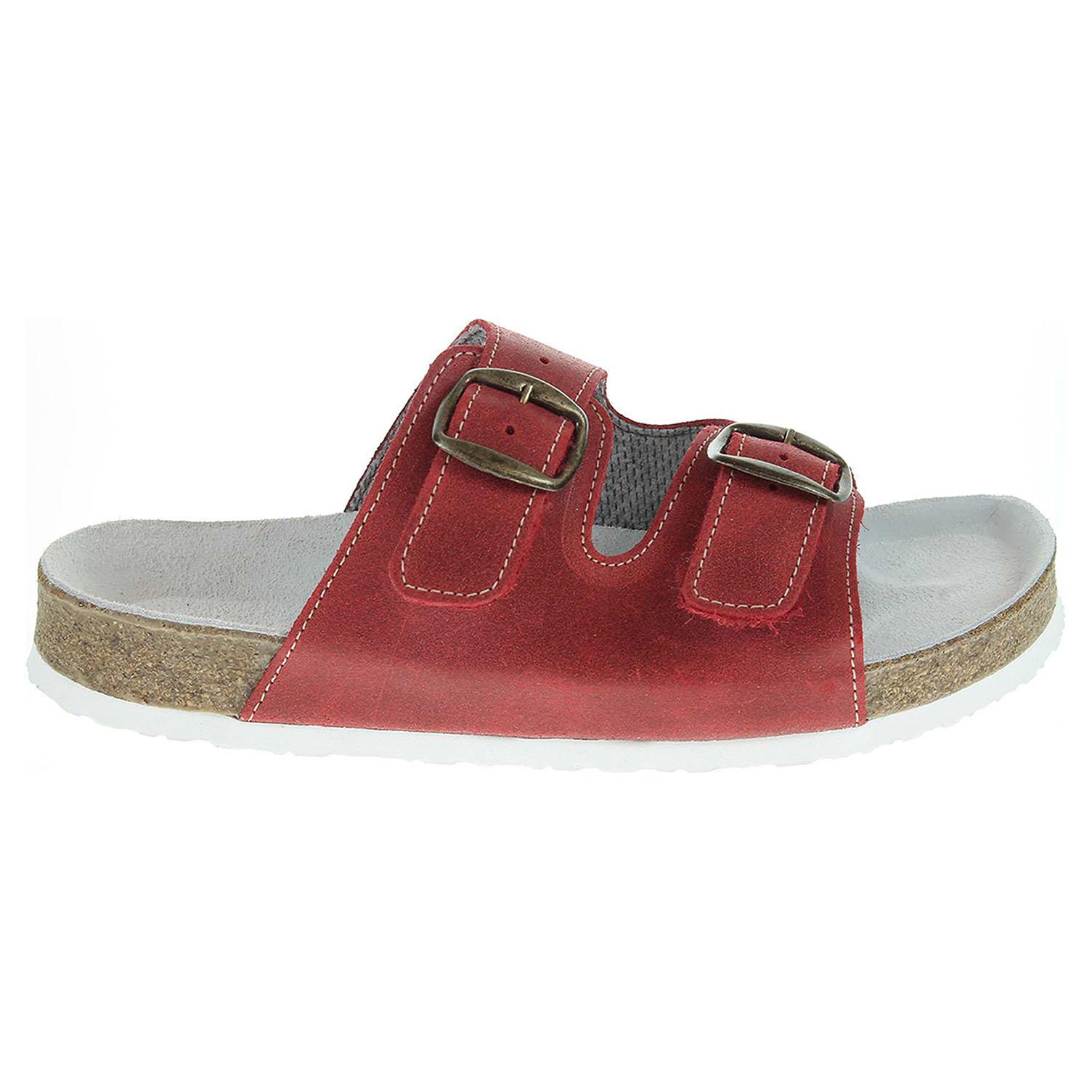 Ecco Pegres dámské pantofle 2100.00 červené 23400285