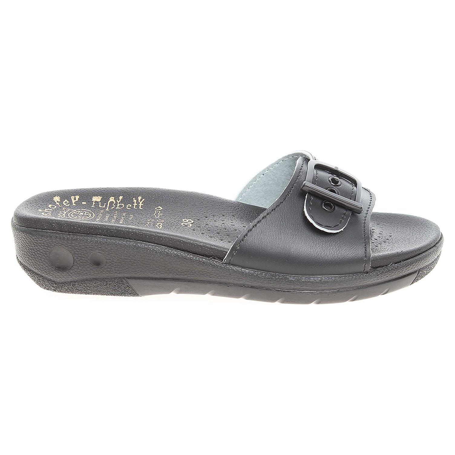 Ecco Dámské pantofle 5-20106 černé 23400306