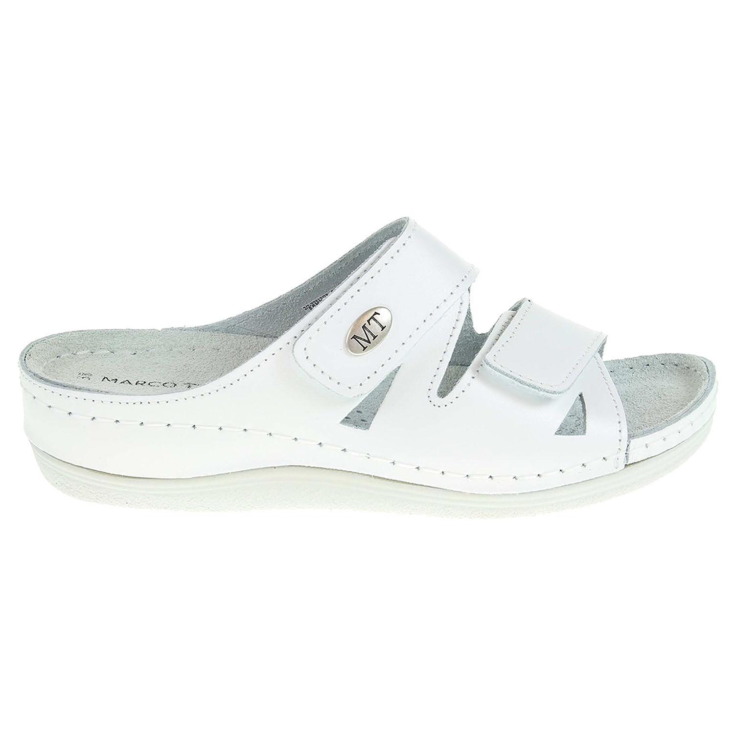 Ecco Marco Tozzi dámské pantofle 2-27512-20 white 23400307