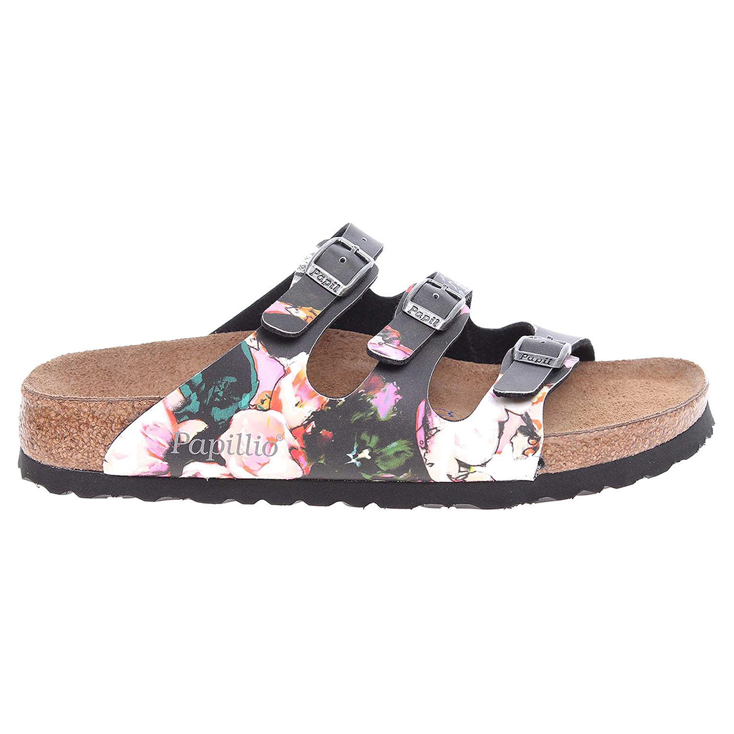 Papillio Florifa dámské pantofle 1000465 černé 41