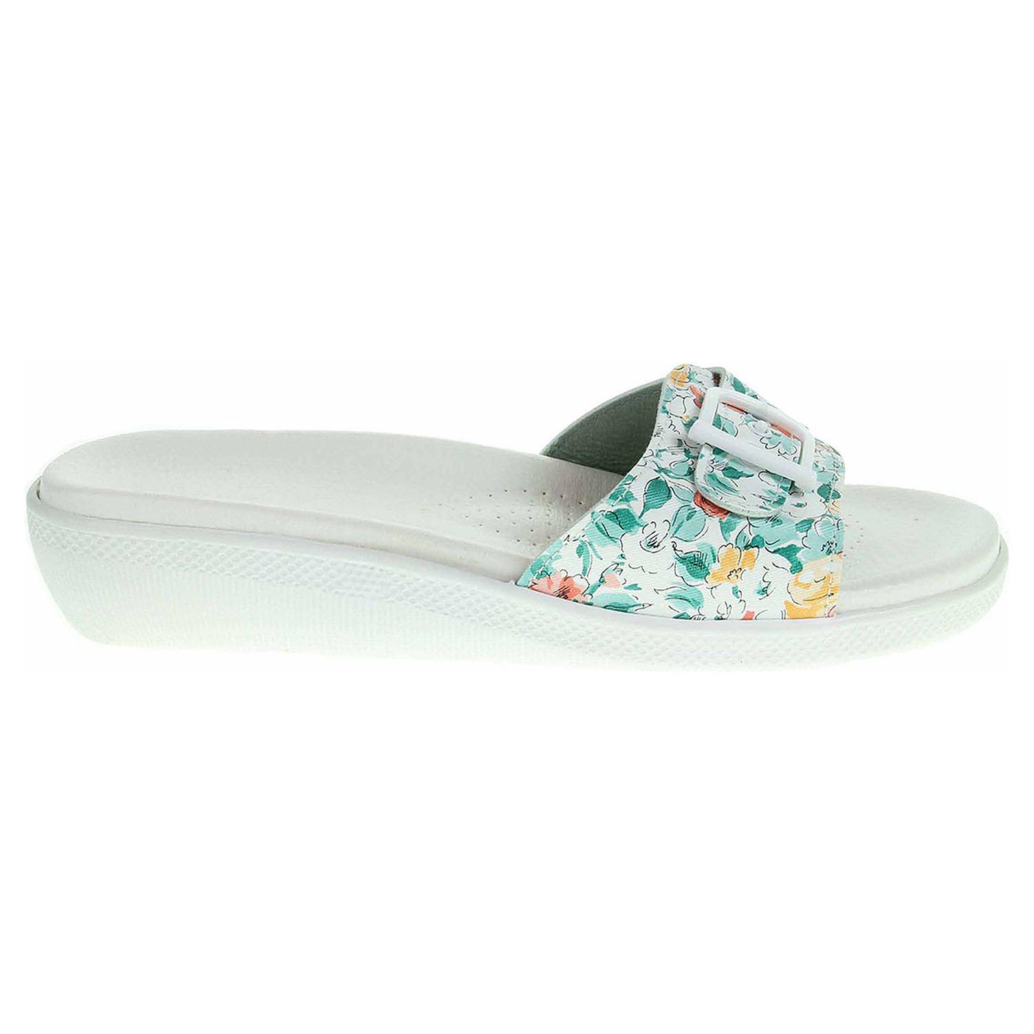 Ecco Dámské pantofle 5-20105 zelené 23400337