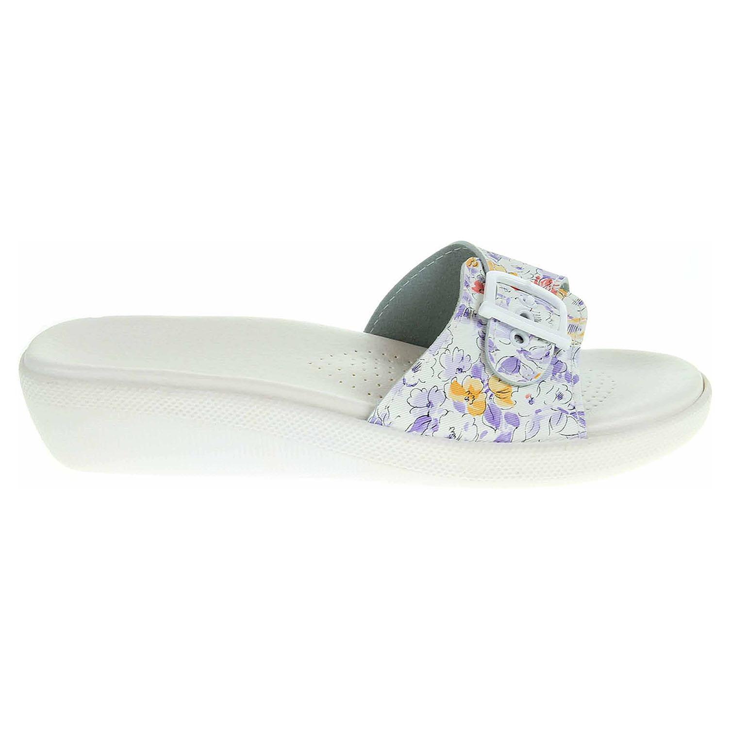 Ecco Dámské pantofle 5-20105 fialové 23400338