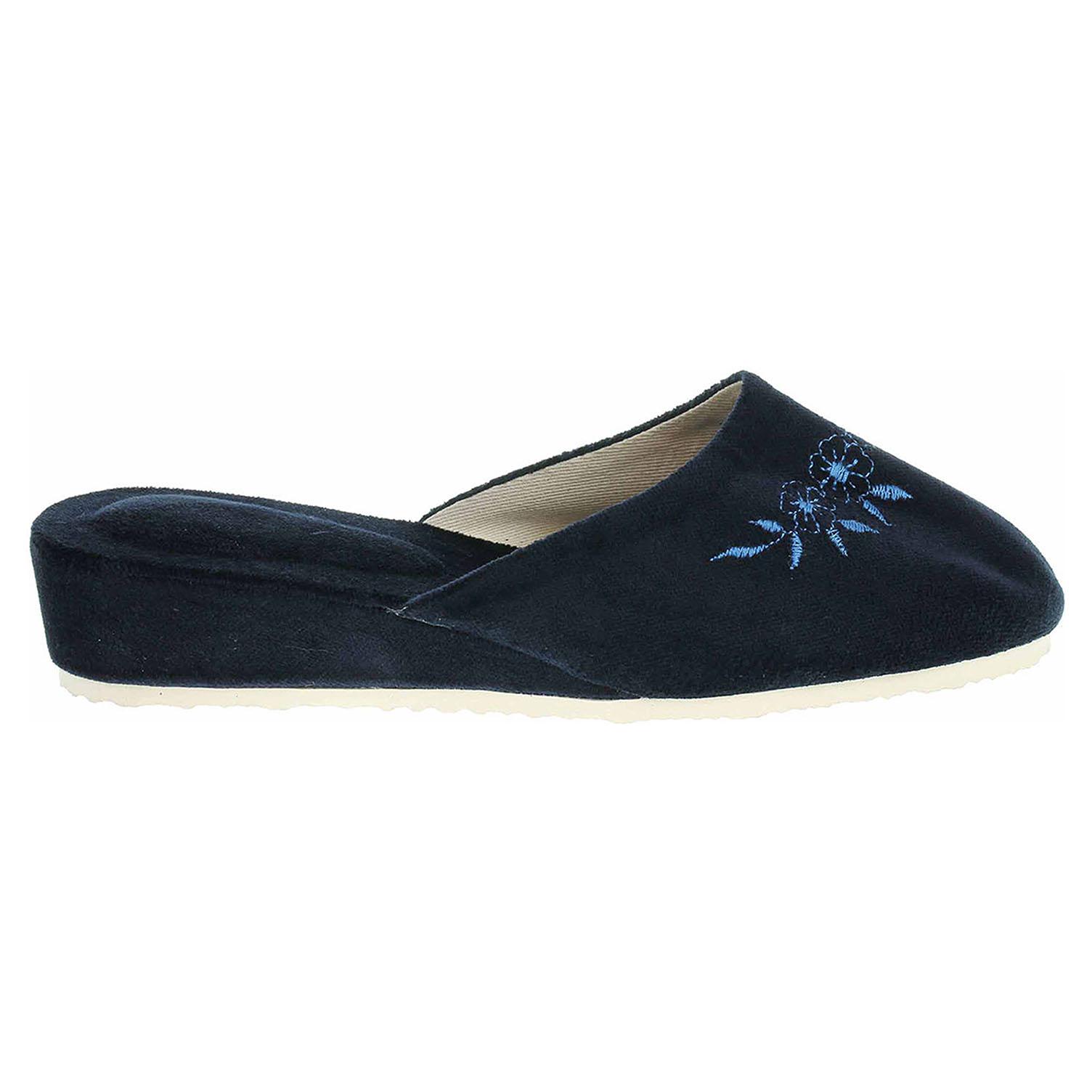 Dámské domácí pantofle 1028.00 modré 41
