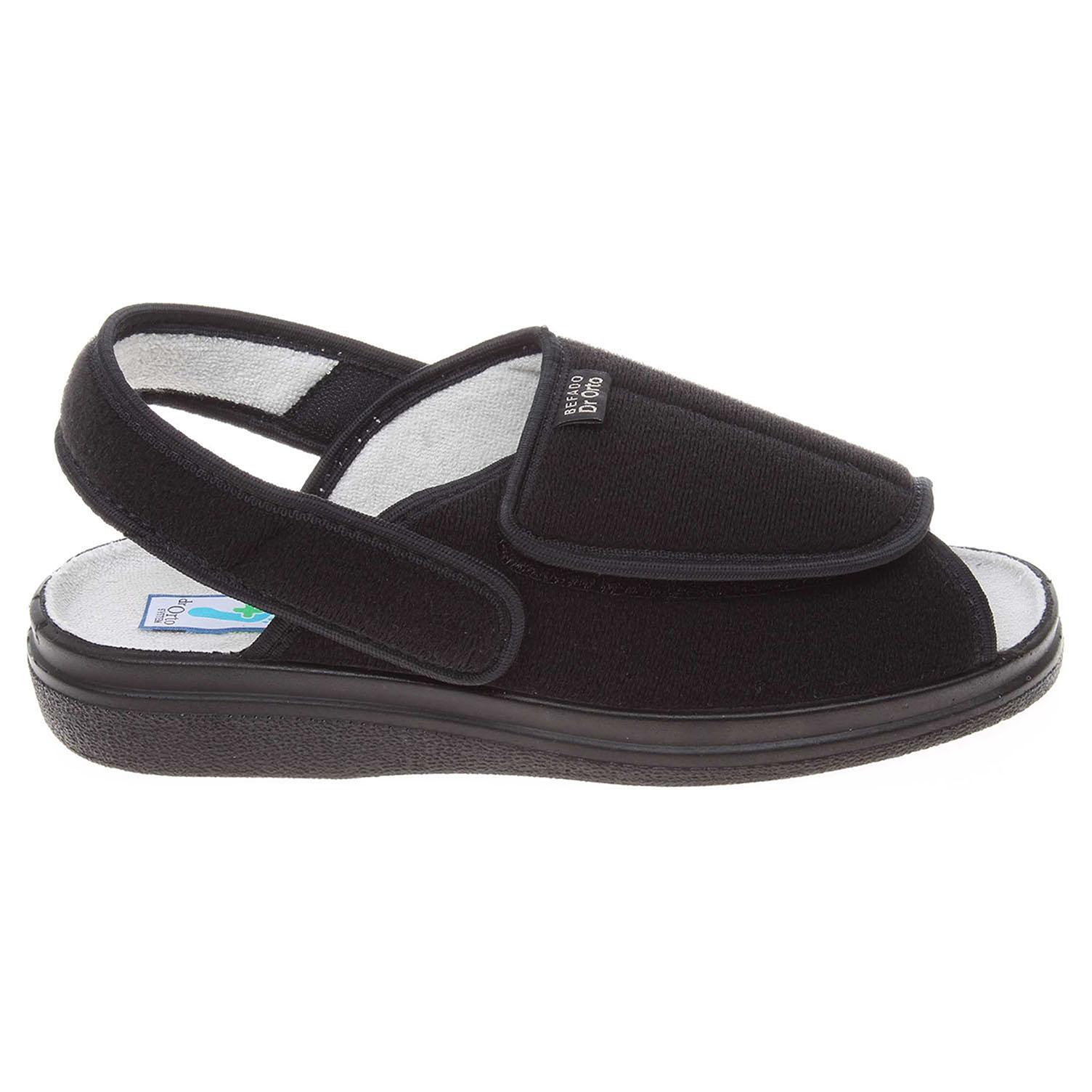 Befado domácí obuv 983D004 černá 39