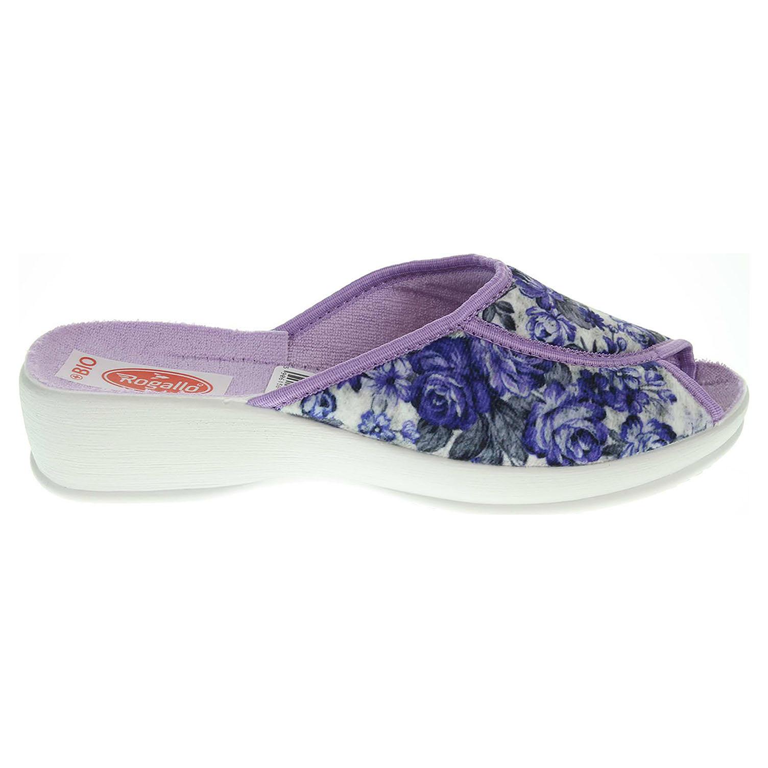 Rogallo dámské domácí pantofle 19424 fialové 41