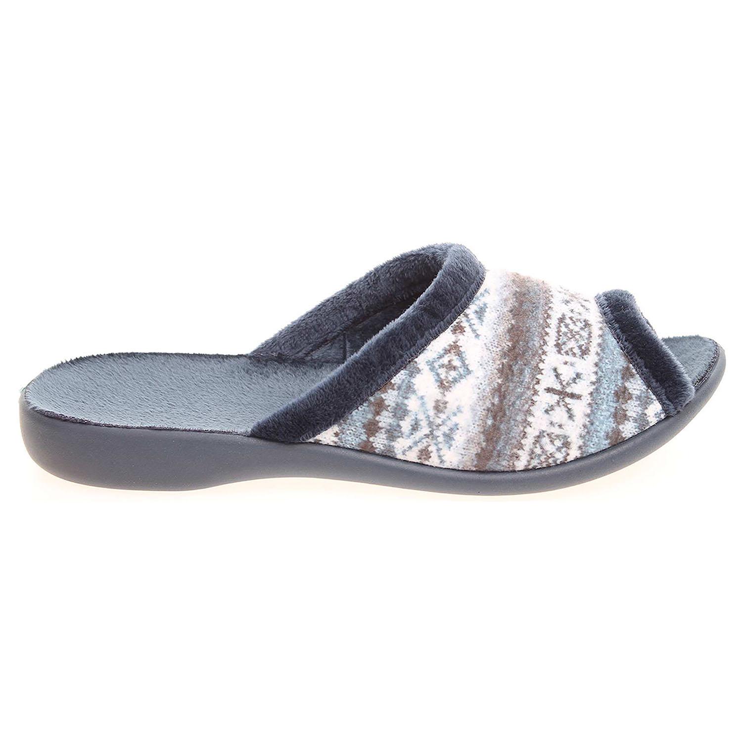 Ecco Befado domácí pantofle 254D036 modré 23500396