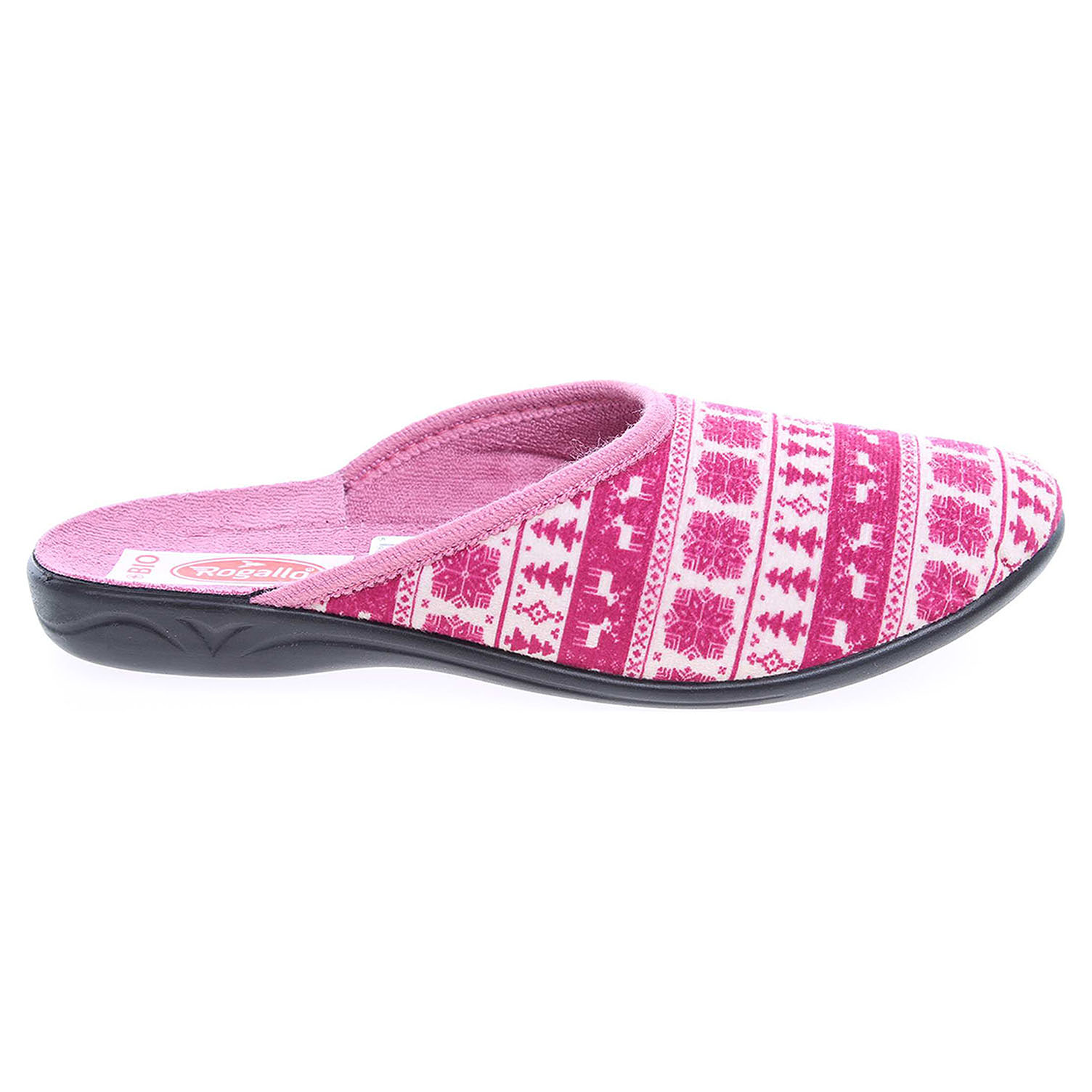 Ecco Rogallo domácí pantofle 19248 růžové 23500399