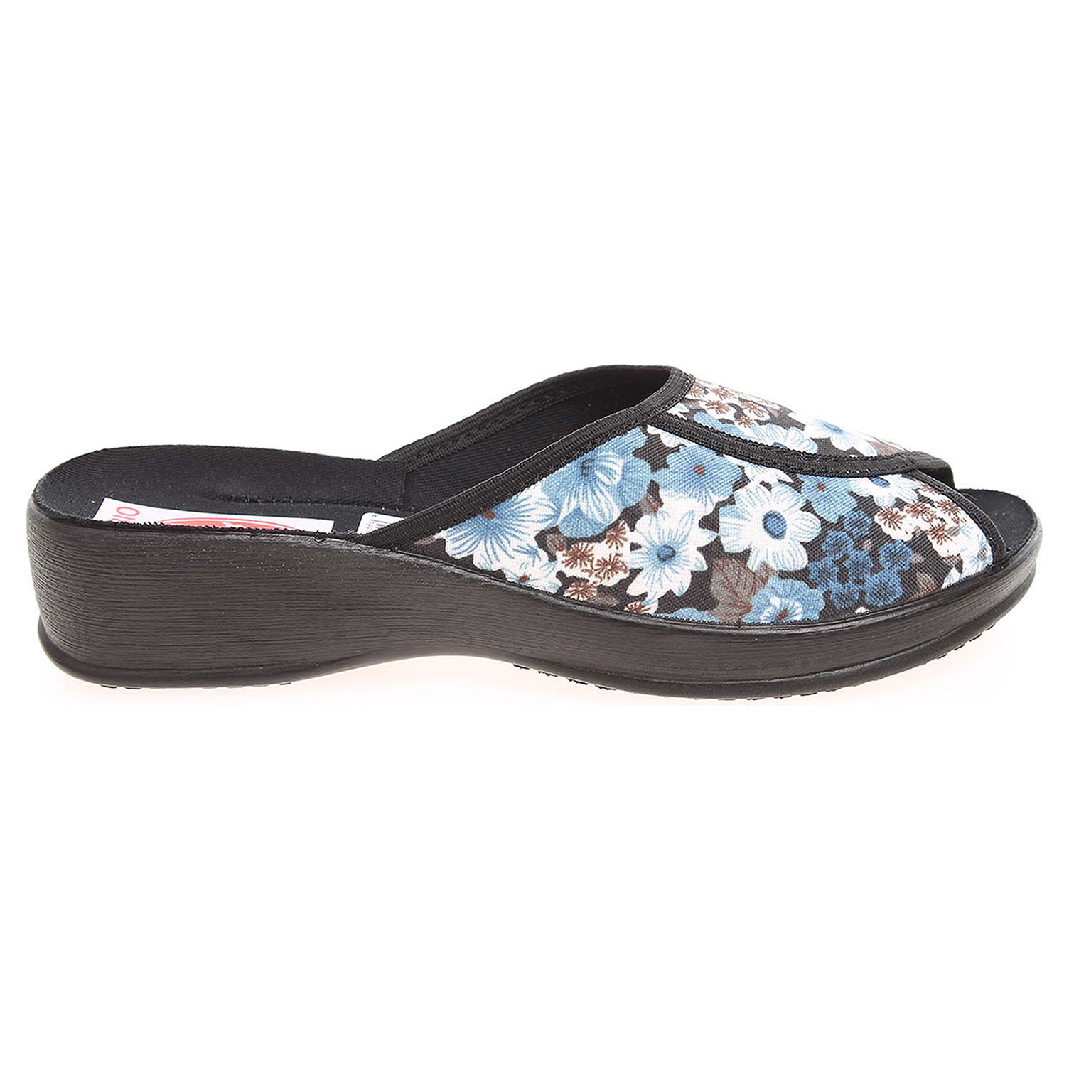 Ecco Rogallo domácí pantofle 20232 modré 23500422