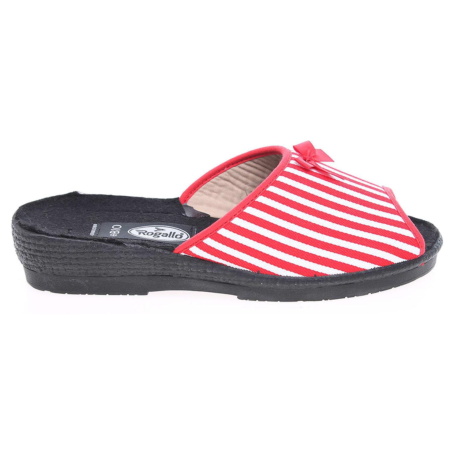Rogallo domácí pantofle 7101-008 červené 42