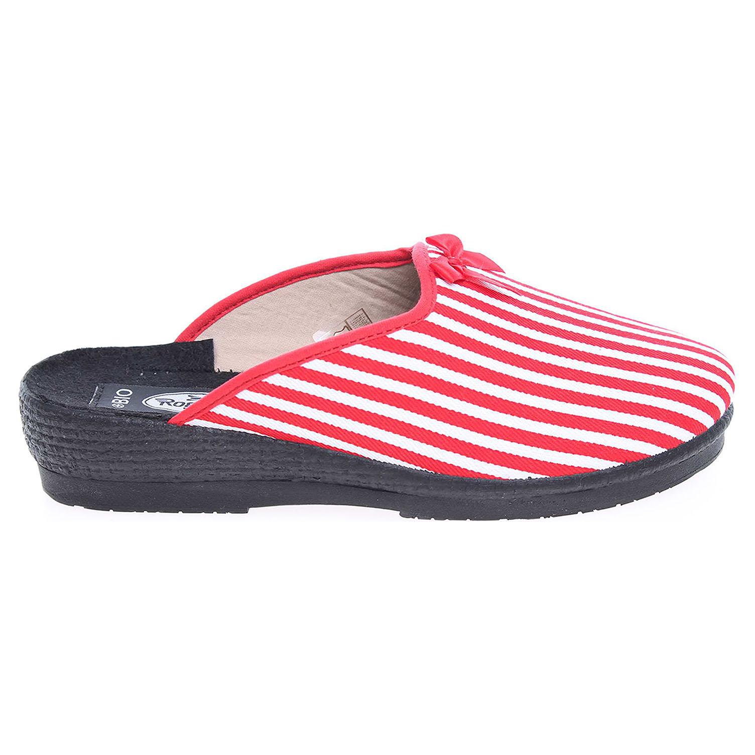 Rogallo domácí pantofle 3360-025 červené 39