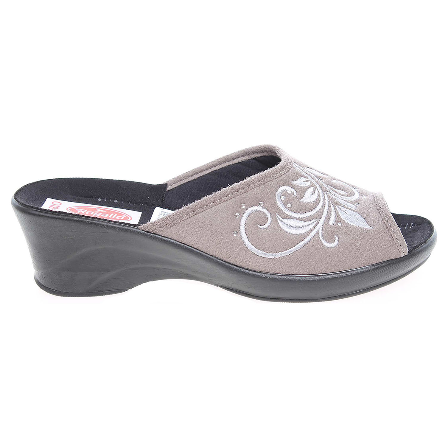 Rogallo dámské pantofle 21038 šedé 41
