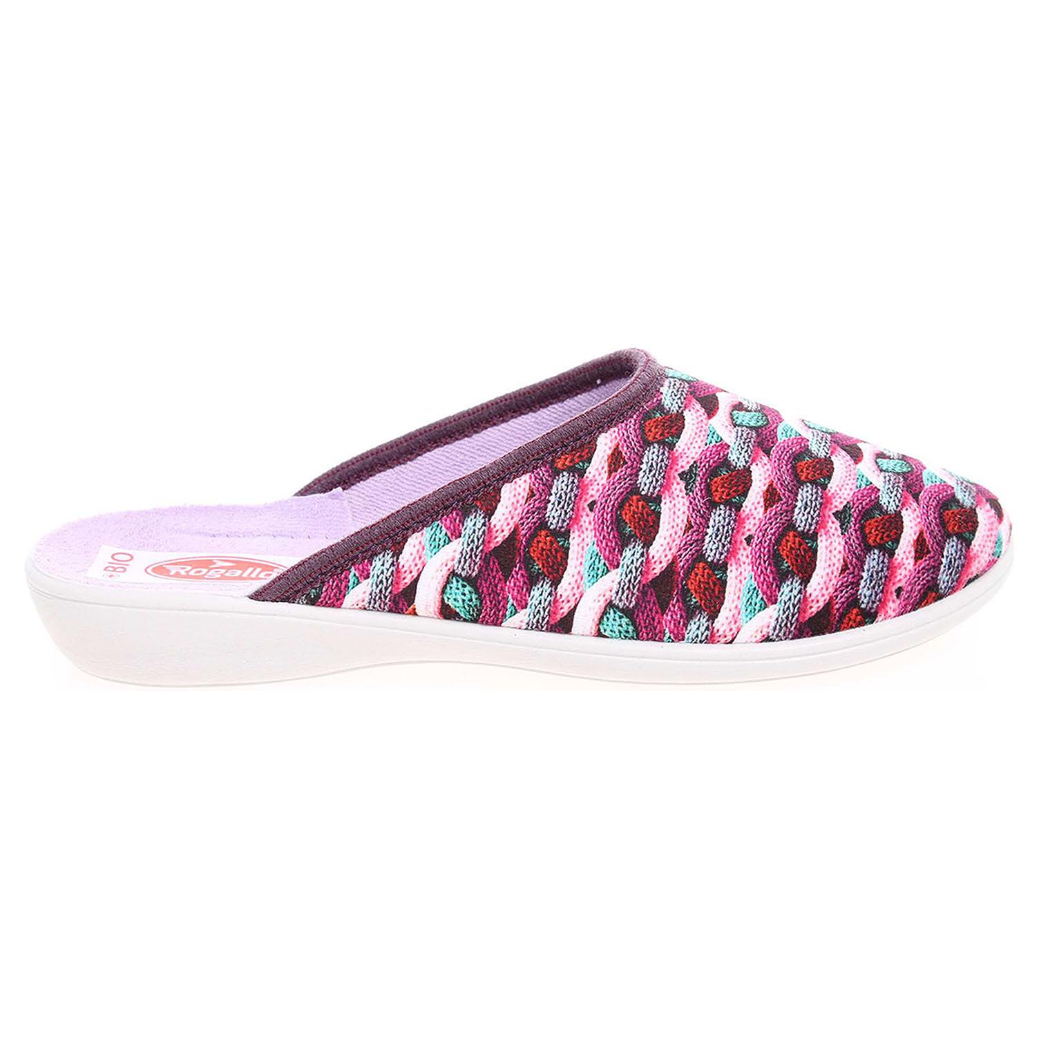 Rogallo dámské pantofle 20909 multicolor 41