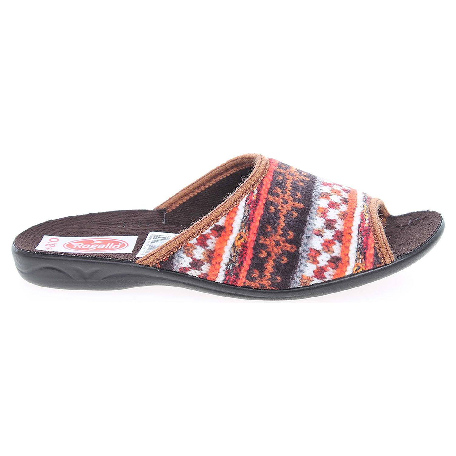 Rogallo domácí pantofle 20759 multicolor 41